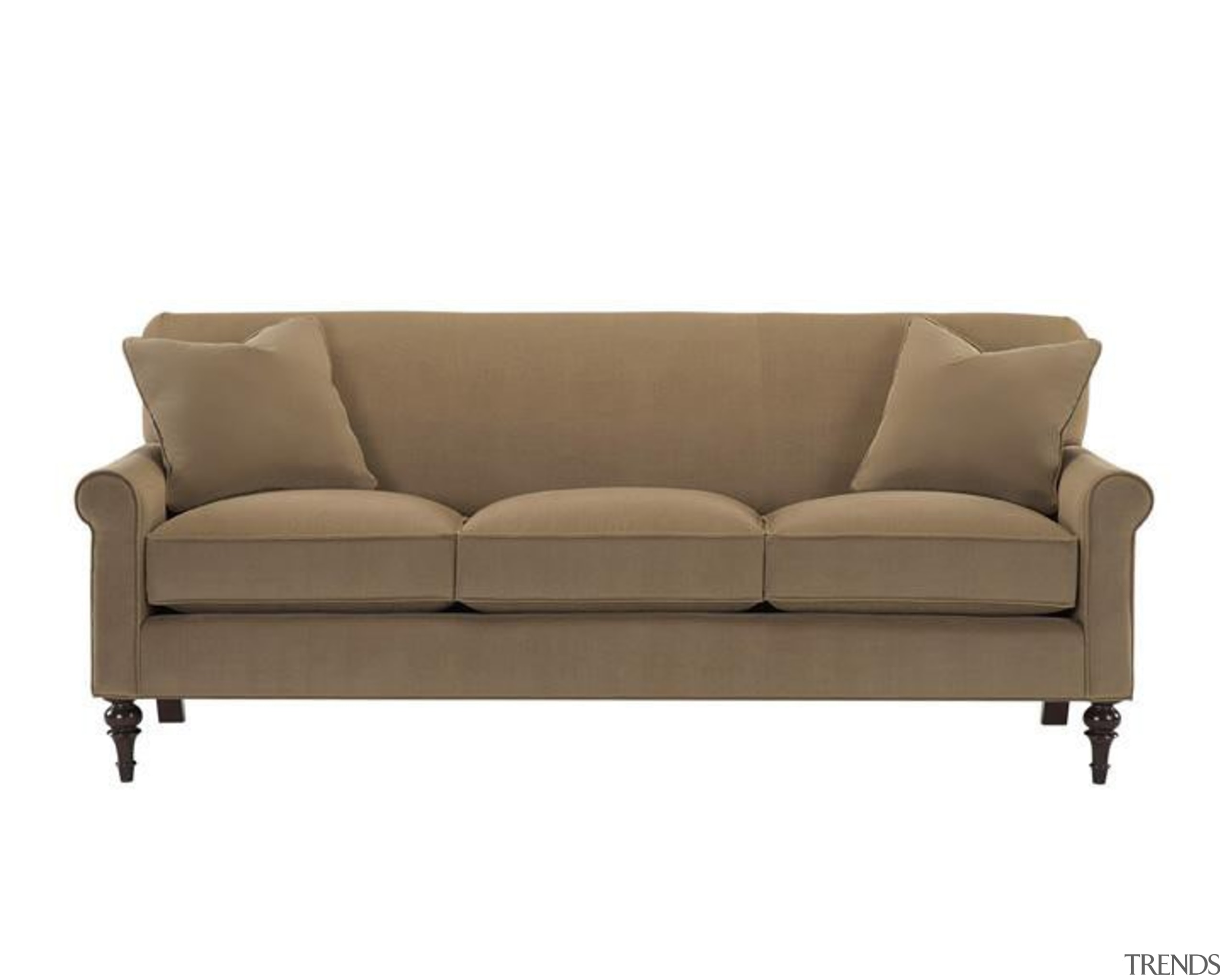 Designed to provide Baker style at unprecedented value, angle, couch, furniture, loveseat, outdoor furniture, outdoor sofa, product design, sofa bed, white, brown