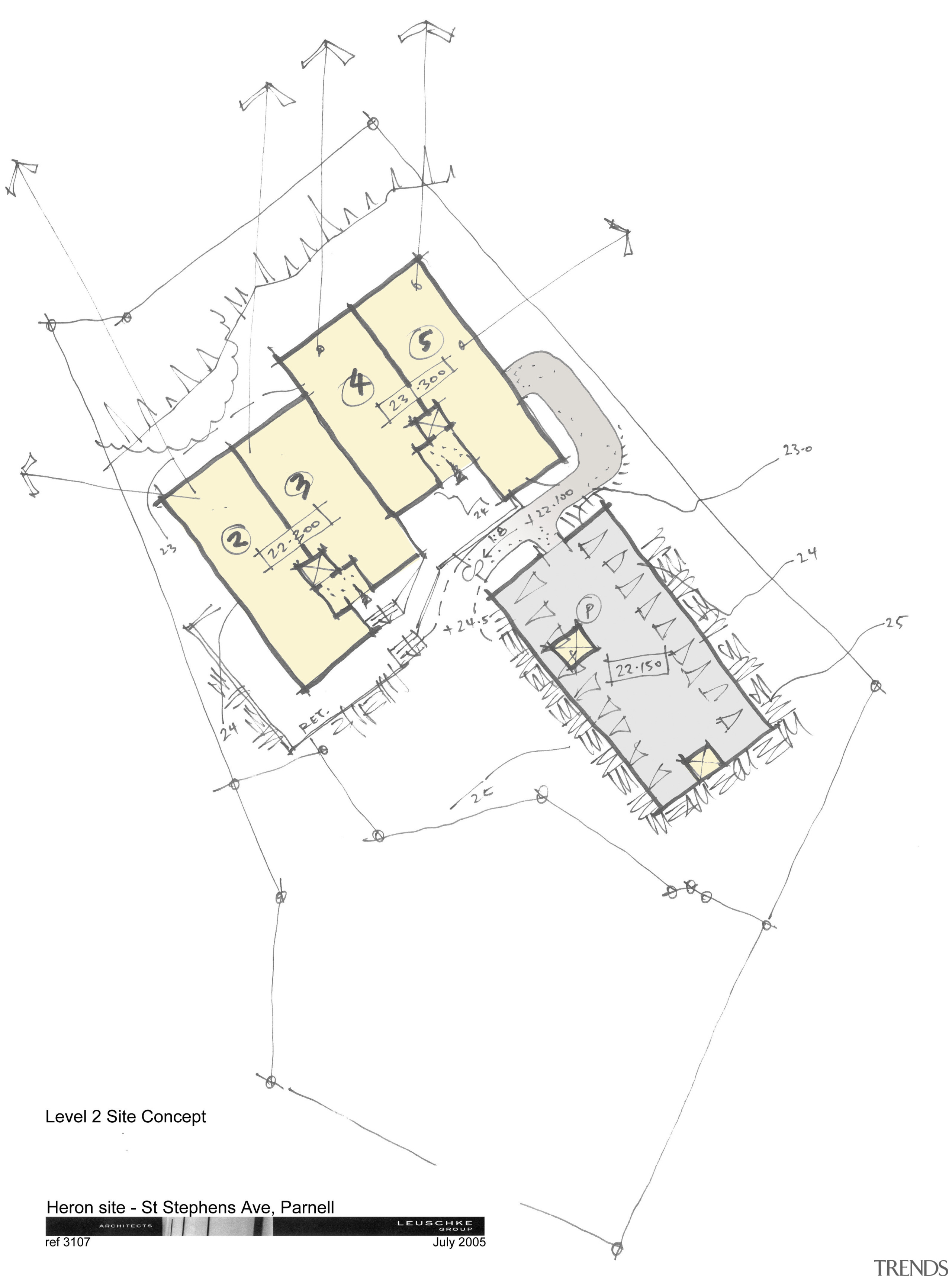 Image of architectural plans of a Parnell apartment angle, area, design, diagram, drawing, floor plan, line, plan, product design, white