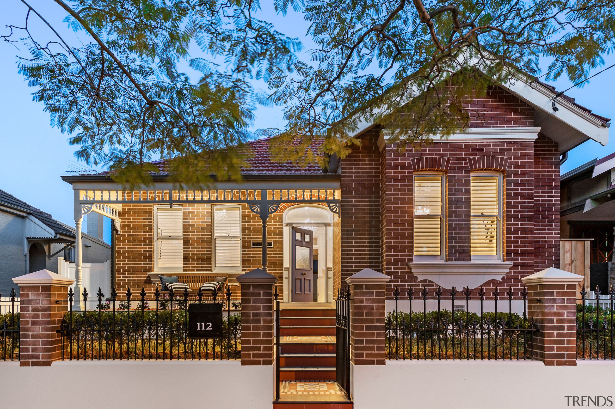 Dilapidated Victorian home receives contemporary open-plan addition building, cottage, elevation, facade, home, house, neighbourhood, property, real estate, residential area