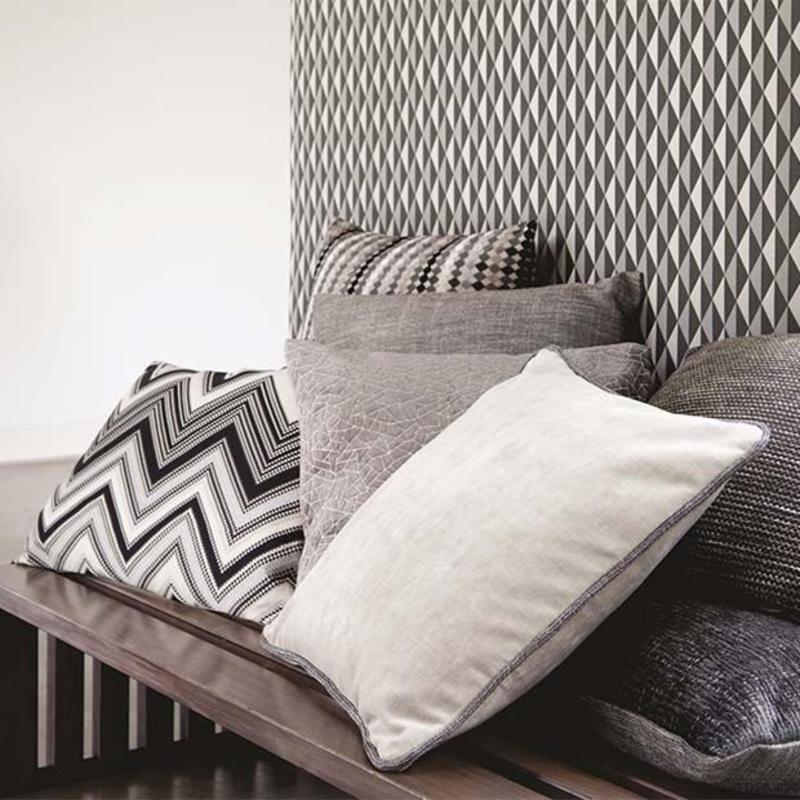 Kaleidoscope 7 - Kaleidoscope 7 - bed | bed, bed frame, bed sheet, black and white, cushion, duvet cover, furniture, linens, mattress, pillow, product, textile, white
