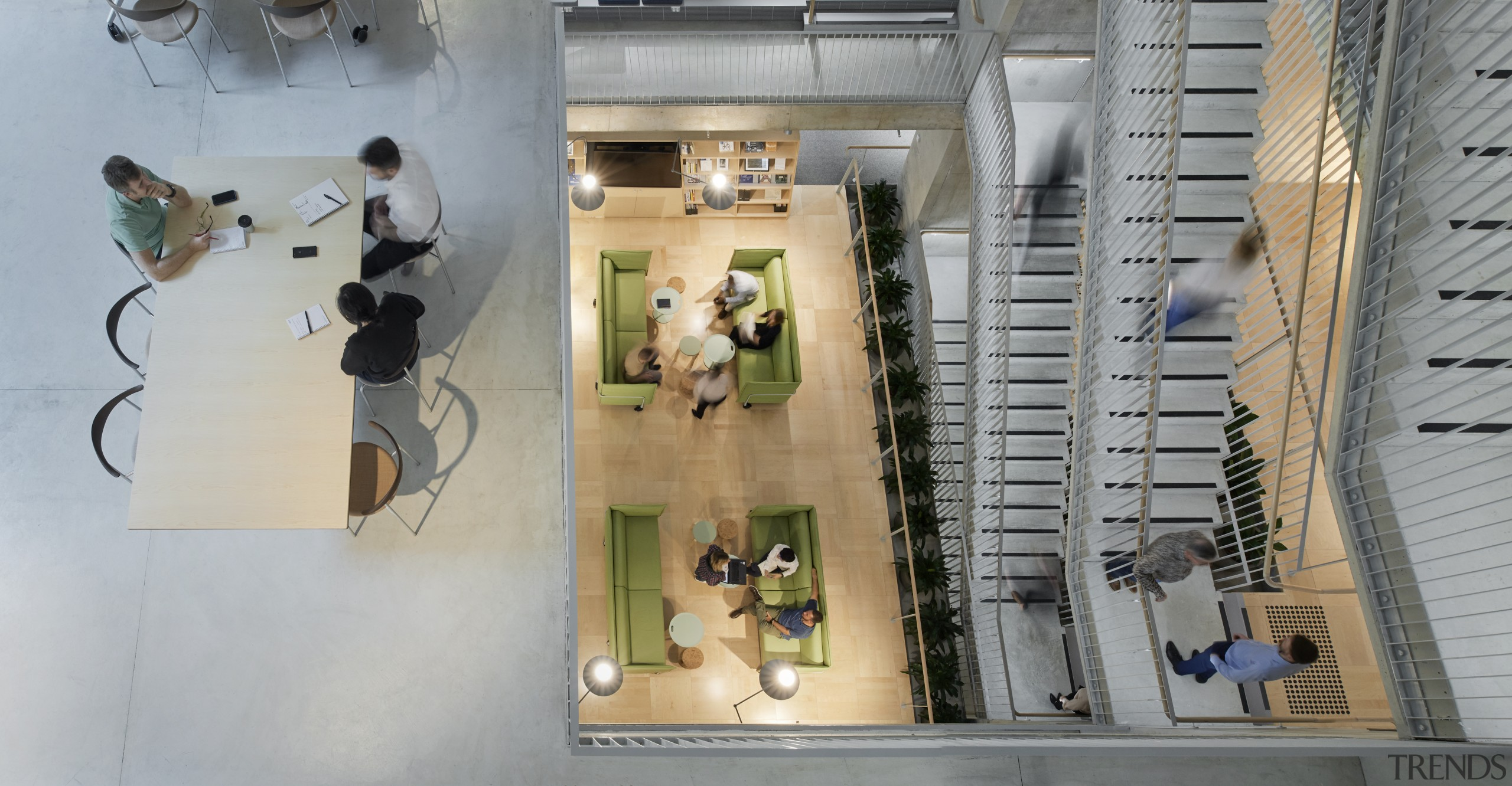 Layer upon layer – the view from the architecture, Arup office fitout, meeting spaces