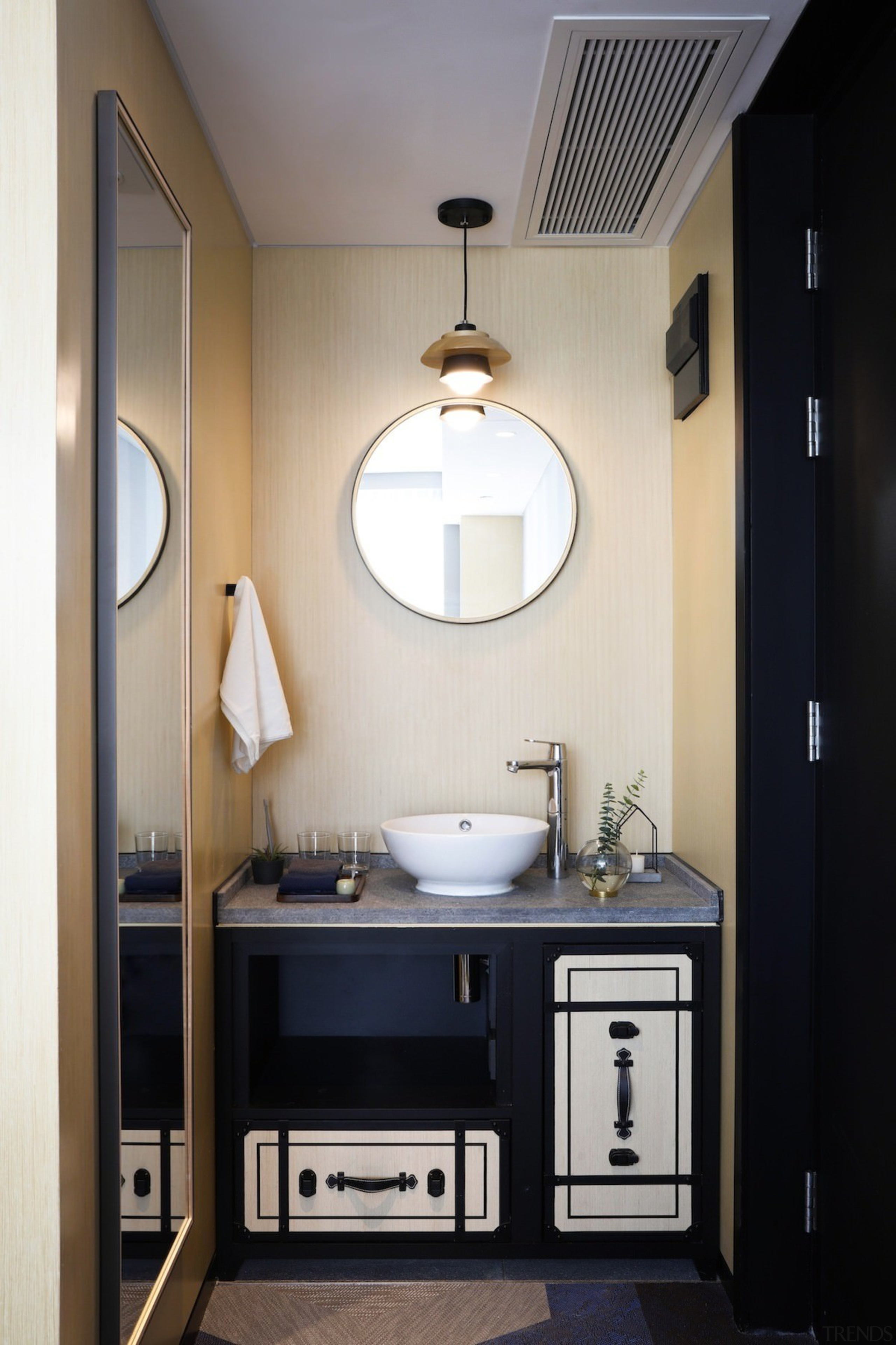 Hotel Ease Access - Hotel Ease Access - bathroom, ceiling, home, interior design, room, sink, gray, black