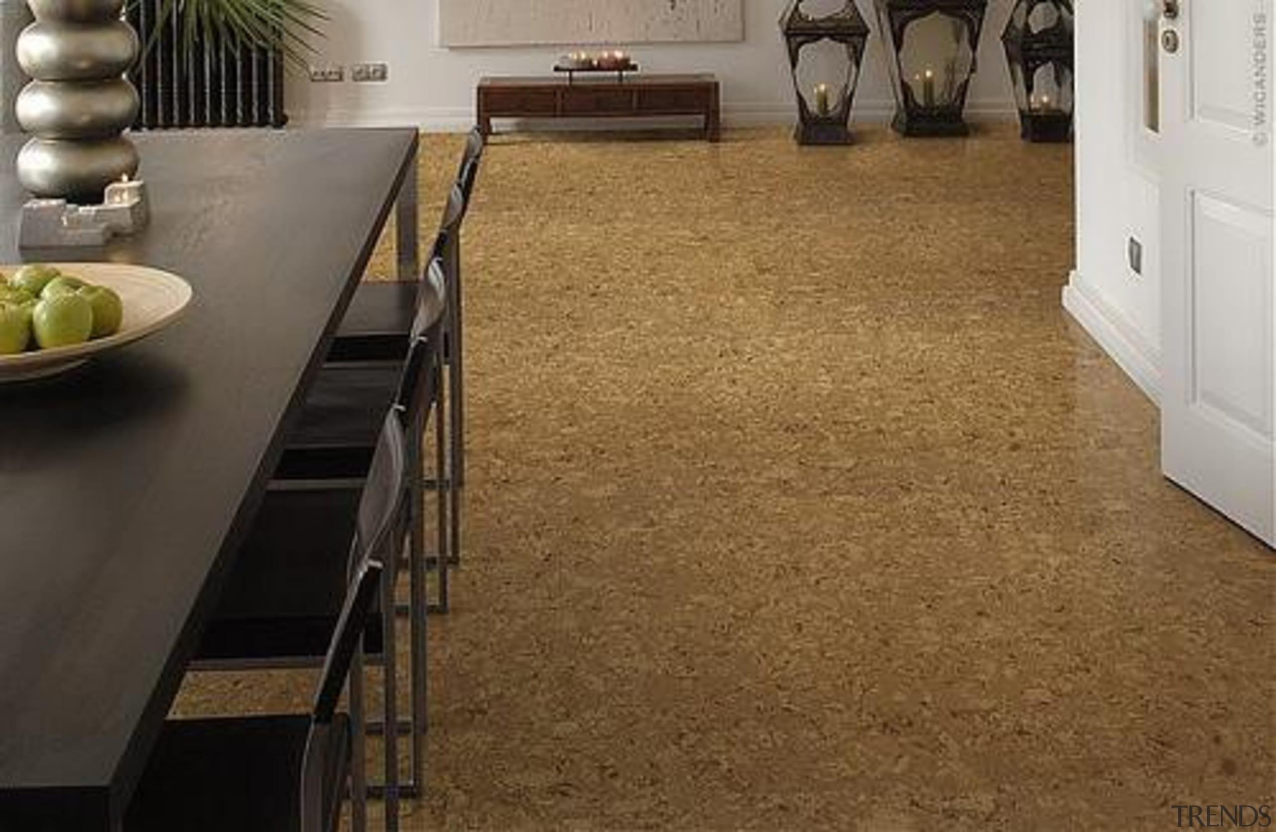 Cork Comfort Original Harmony - Cork Comfort Original countertop, floor, flooring, hardwood, interior design, laminate flooring, tile, wood, wood flooring, brown
