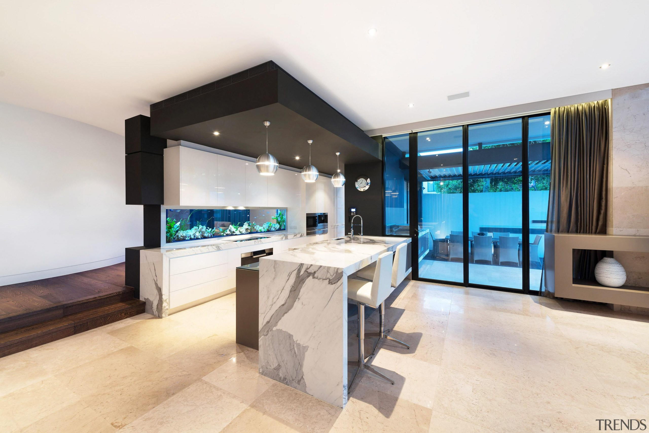Winner Kitchen of the Year 2013 Victoria - estate, interior design, kitchen, living room, property, real estate, white
