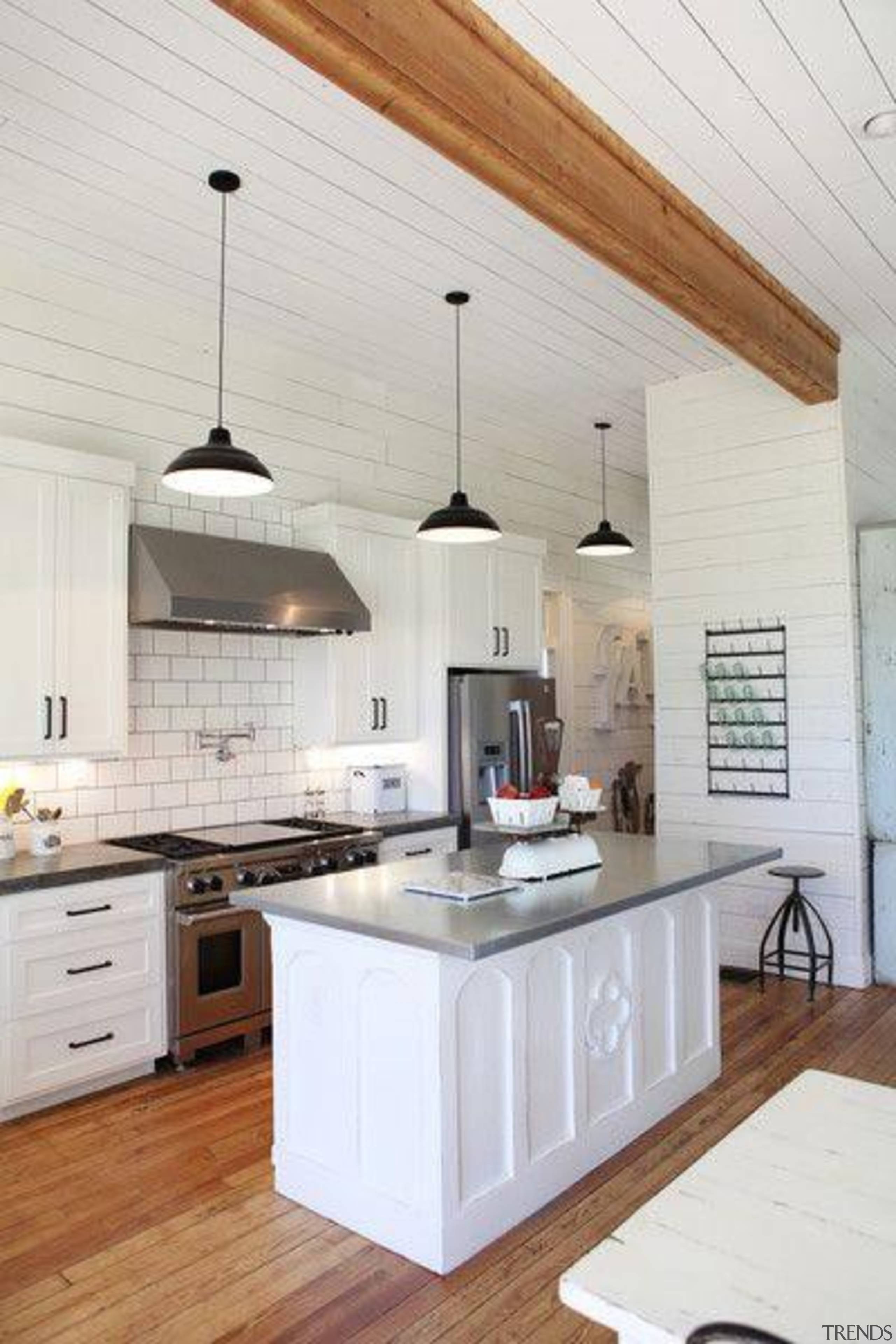 White with touch of woodStart a myTrends ProjectCreate cabinetry, ceiling, countertop, cuisine classique, floor, flooring, home, interior design, kitchen, room, white