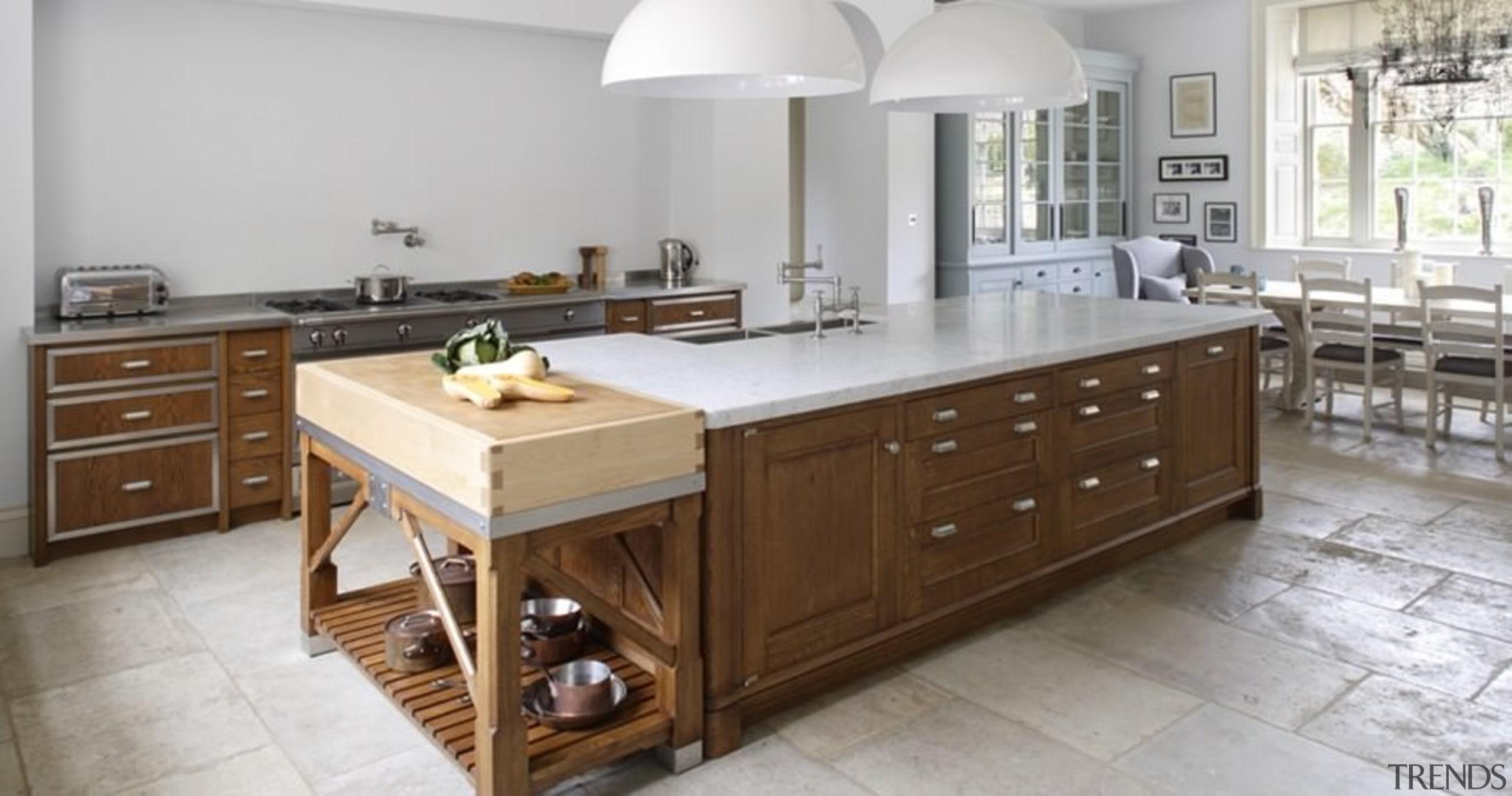 A traditional British kitchen - A traditional British cabinetry, countertop, cuisine classique, interior design, kitchen, room, gray