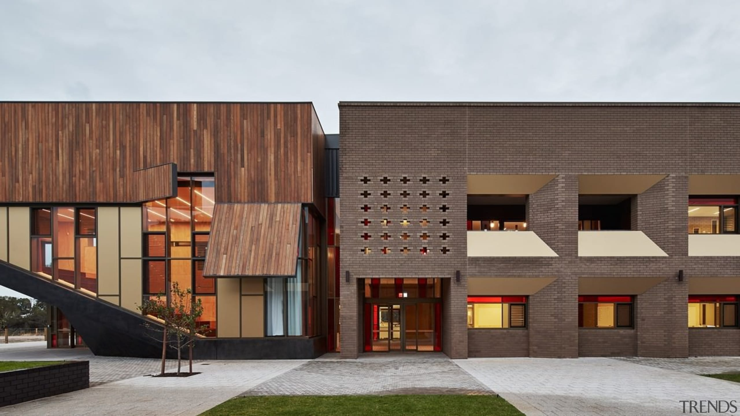 Bunbury Catholic College – Mercy Campus - Bunbury architecture, building, commercial building, elevation, facade, home, house, mixed use, real estate, residential area, white, brown