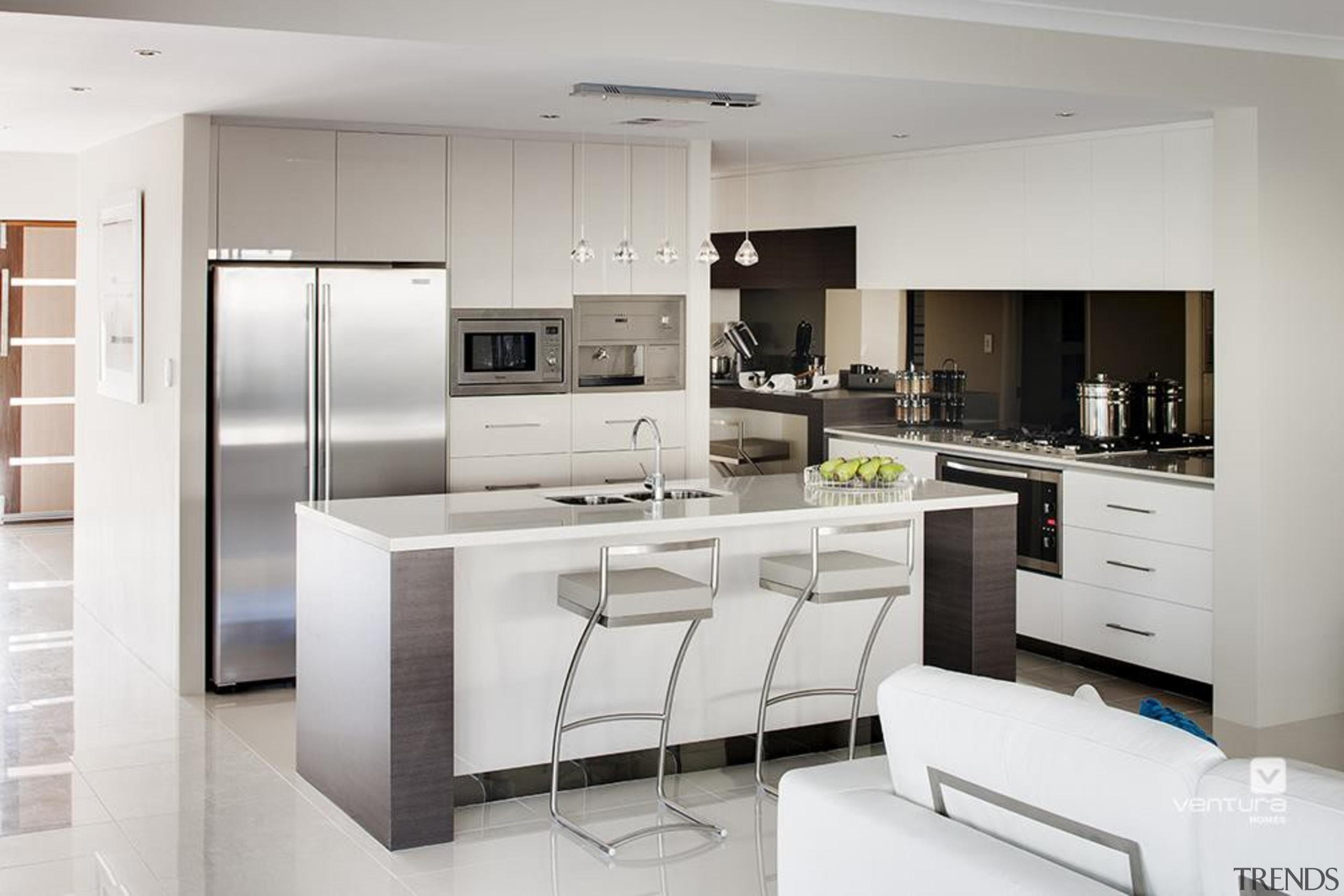 Kitchen design. - The New Dimension Display Home cabinetry, countertop, cuisine classique, home appliance, interior design, interior designer, kitchen, product design, gray