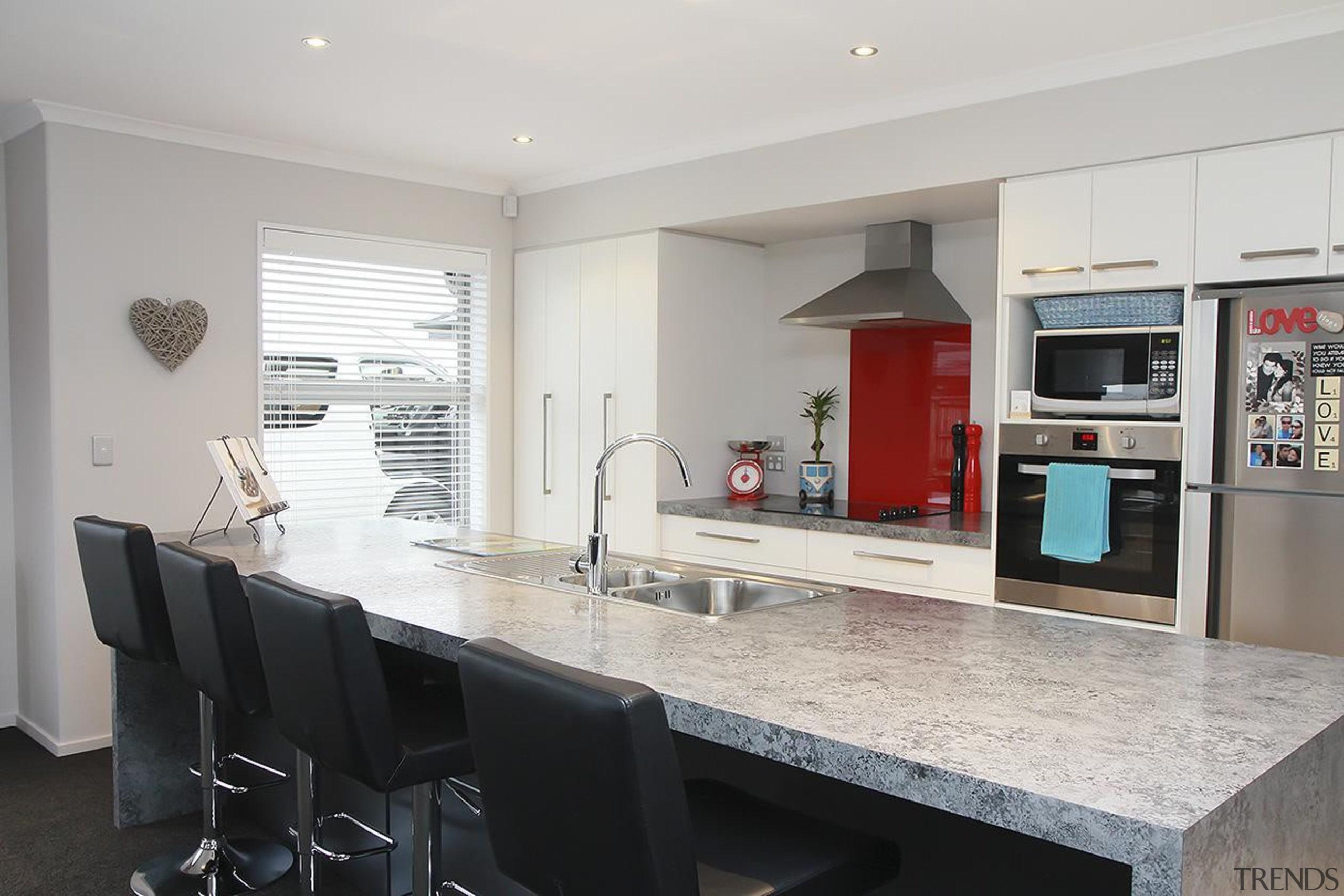 For more information, please visit www.gjgardner.co.nz countertop, interior design, kitchen, property, real estate, gray