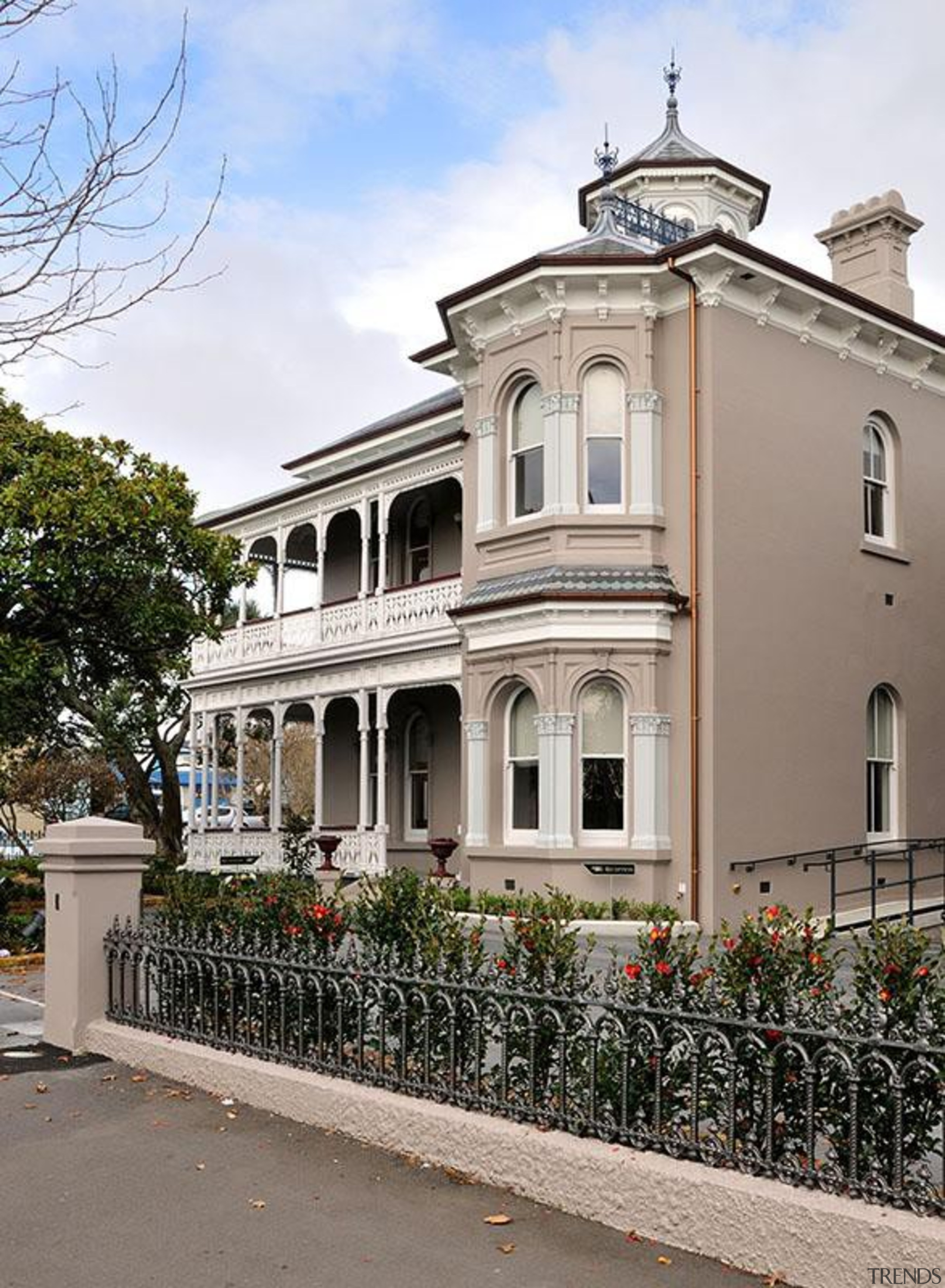 NOMINEEAllendale House and Annexe (3 of 4) - architecture, building, classical architecture, estate, facade, historic house, home, house, mansion, neighbourhood, property, real estate, residential area, villa, window, gray
