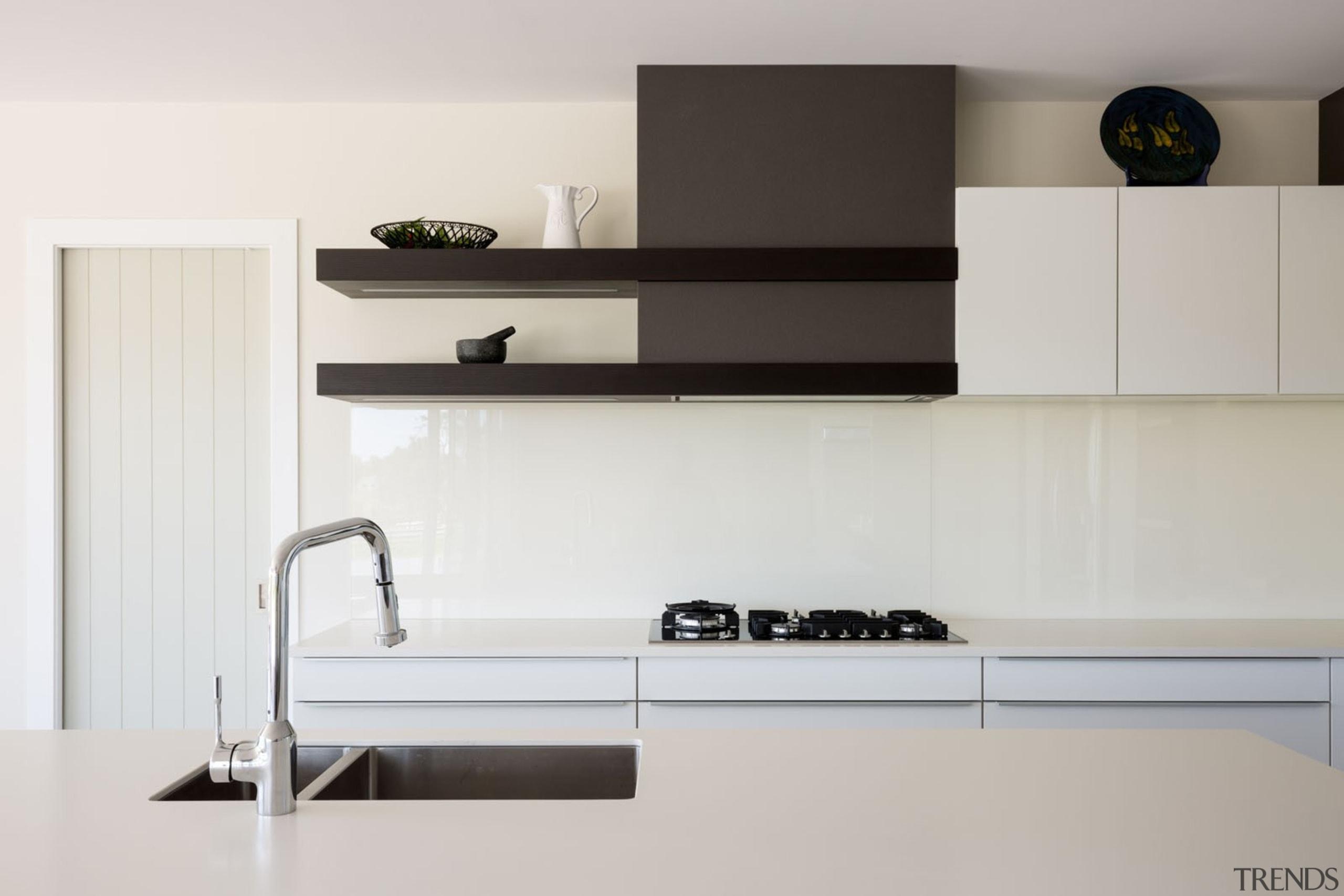 IMGL9867-15 - Dairy Flat Kitchen - furniture | furniture, kitchen, product, product design, shelf, shelving, tap, wall, gray