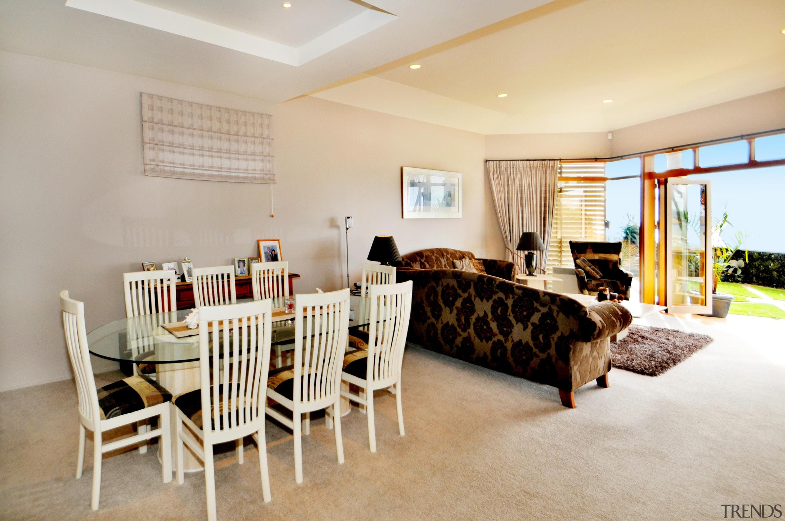 Living - ceiling | estate | floor | ceiling, estate, floor, flooring, home, interior design, living room, property, real estate, room, gray