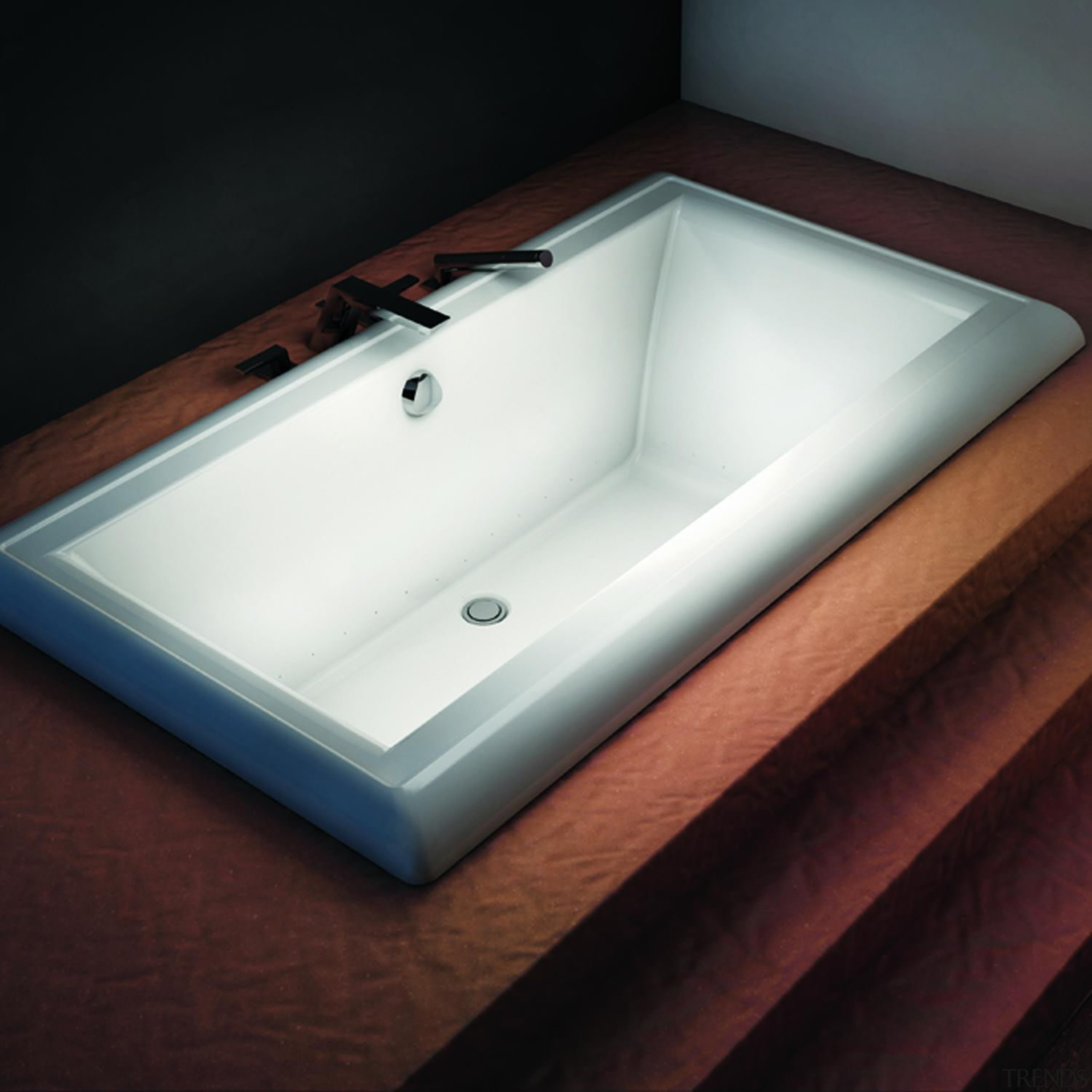 The Design Series of the Origami collection features bathroom sink, bathtub, plumbing fixture, product design, sink, tap, black