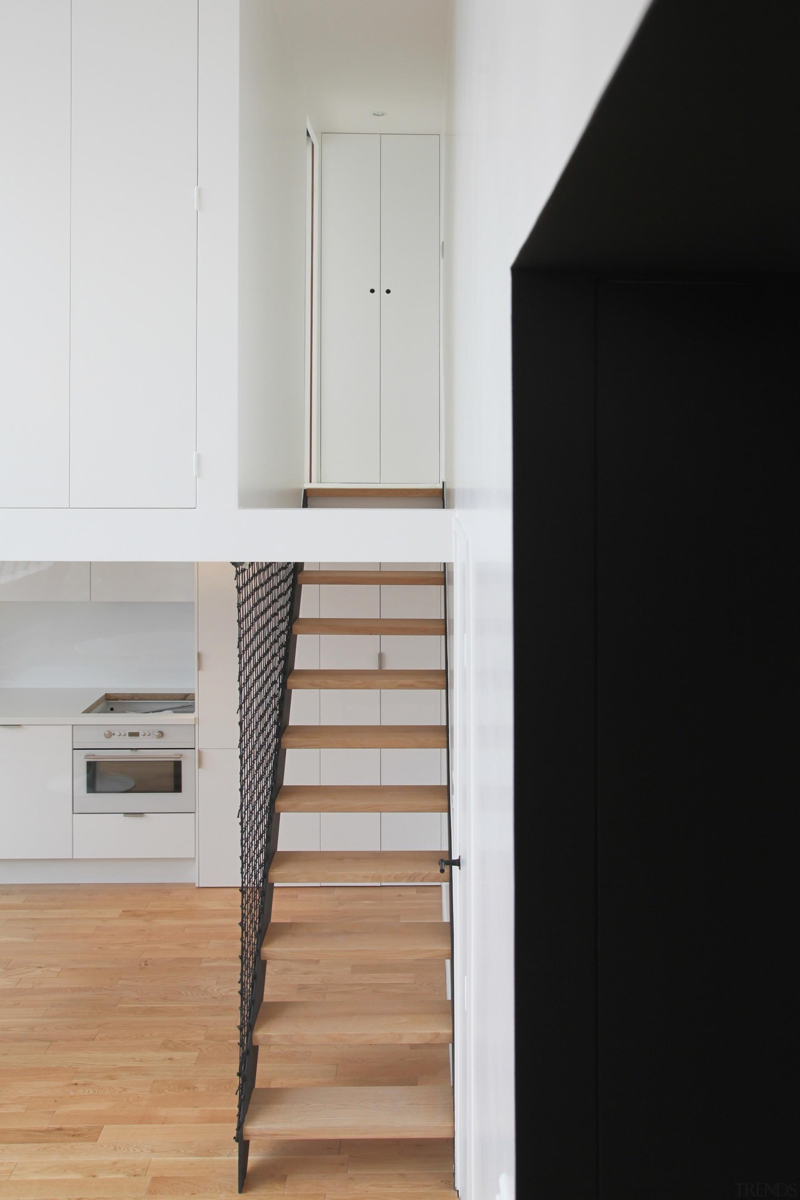 Architect: jbmn architectesPhotographer: Hermann Wendler floor, house, interior design, product design, room, wall, wood, black, gray