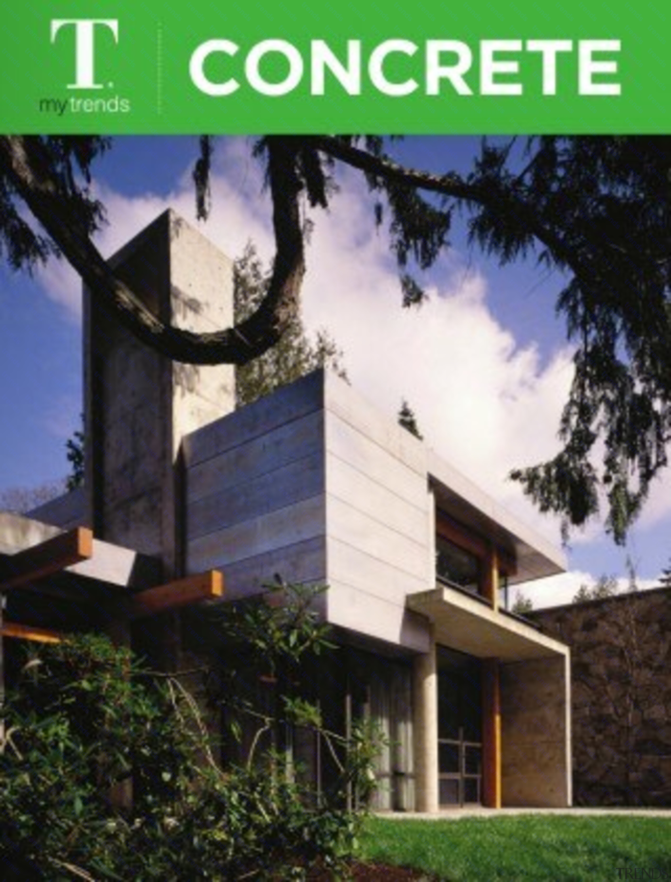 Concrete Ideas architecture, elevation, facade, home, house, property, real estate, roof, black