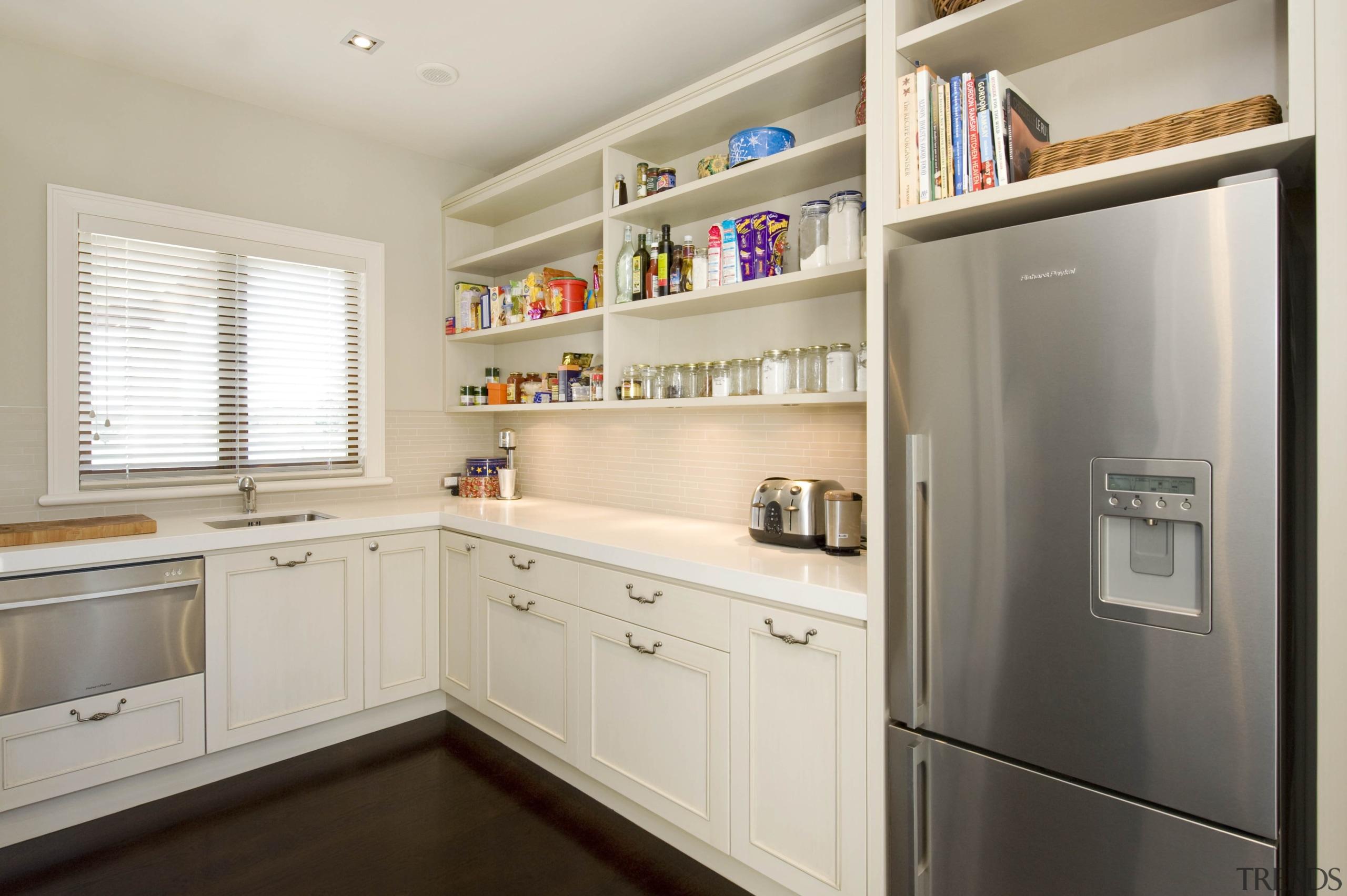 Karaka - cabinetry   countertop   cuisine classique cabinetry, countertop, cuisine classique, home appliance, interior design, kitchen, room, gray