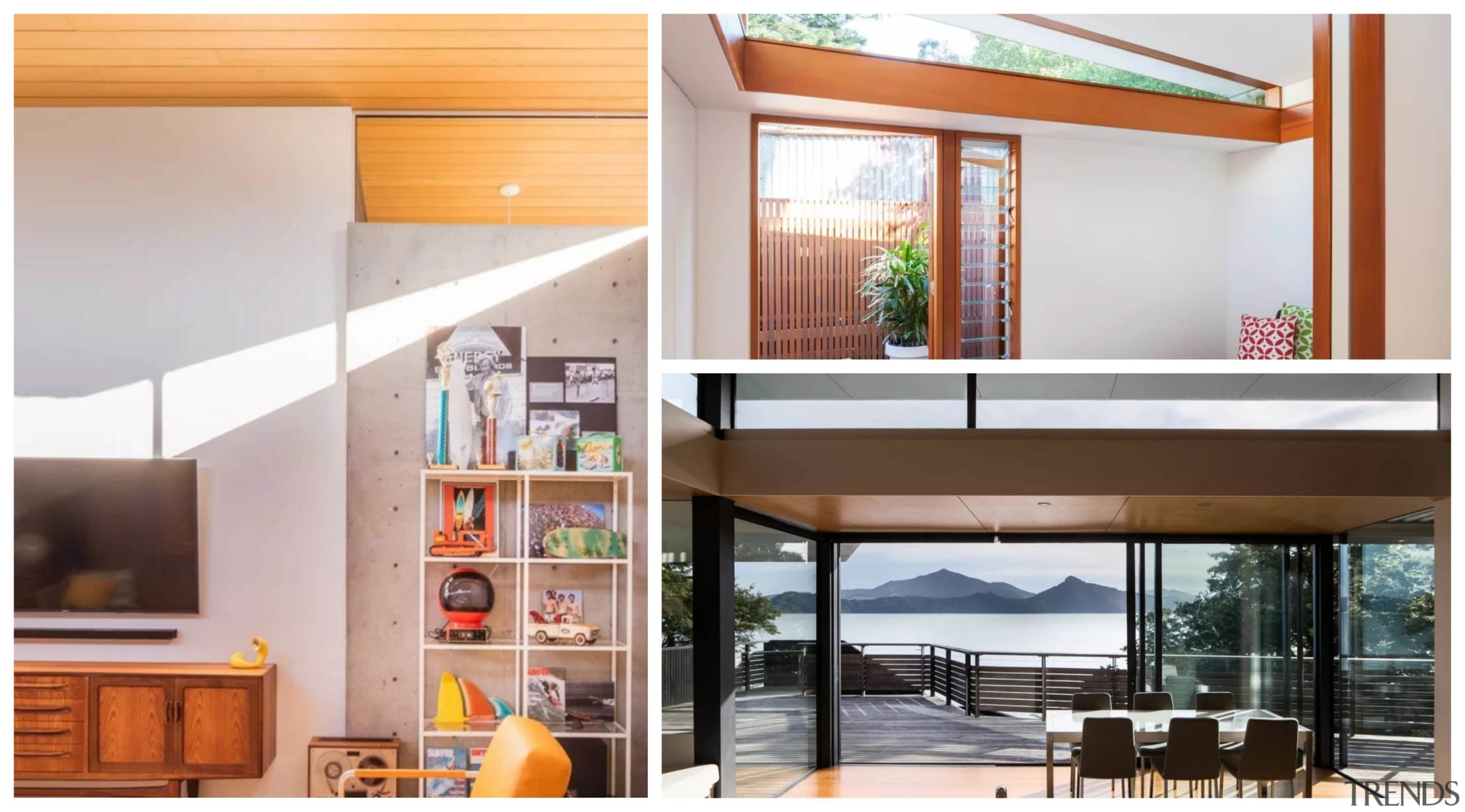 Clerestory windows are a great way to light door, home, interior design, window, white