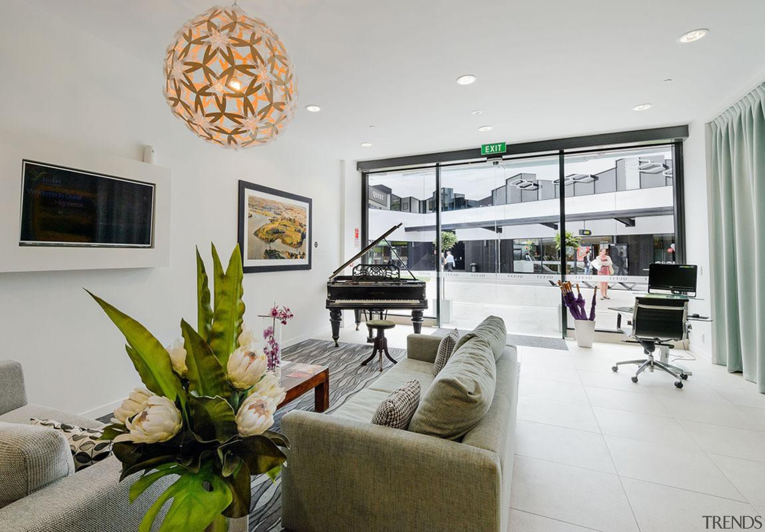 MERIT WINNERThe Crossing Highbrooks Business Park (2 of ceiling, home, interior design, living room, property, real estate, gray