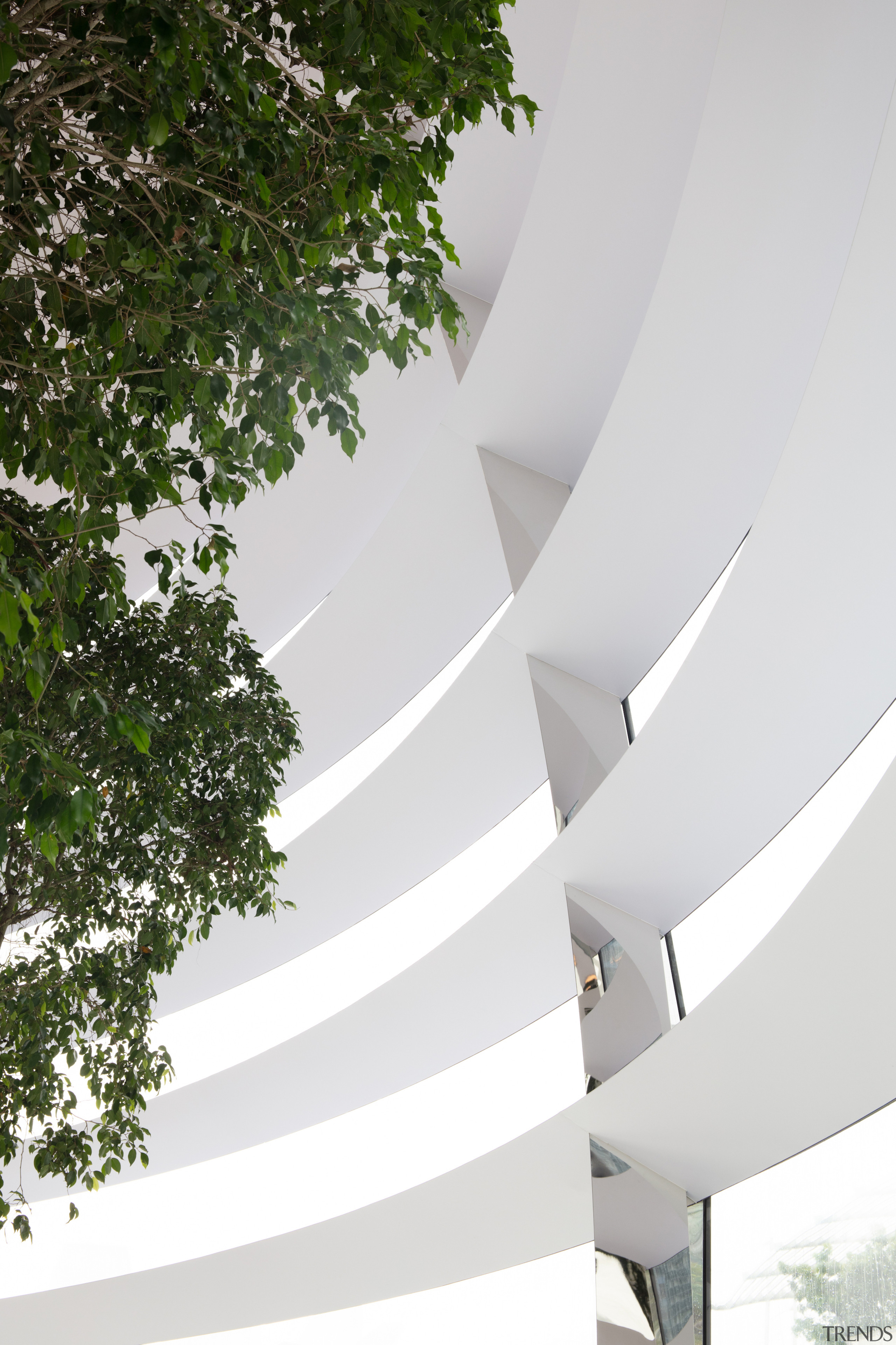 Structurally, the dome acts as a hybrid steel