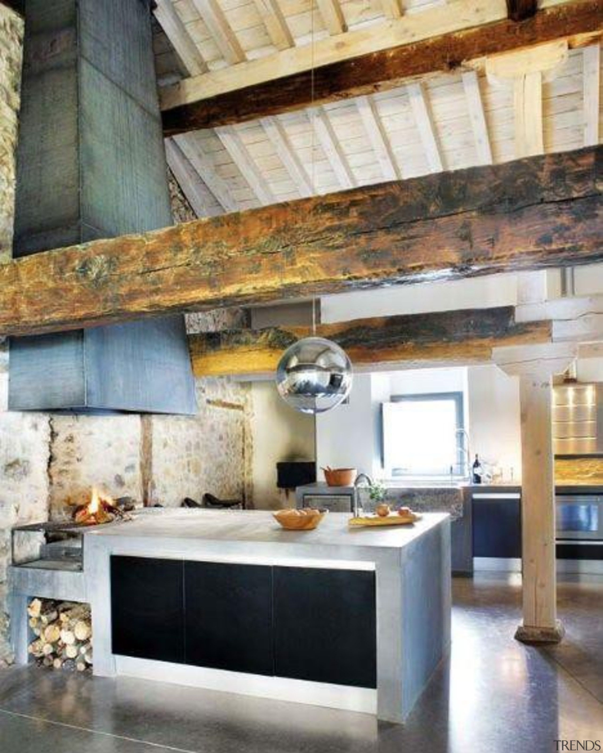 Start a myTrends ProjectCreate an ideas hub for beam, ceiling, countertop, hearth, interior design, kitchen, living room, white