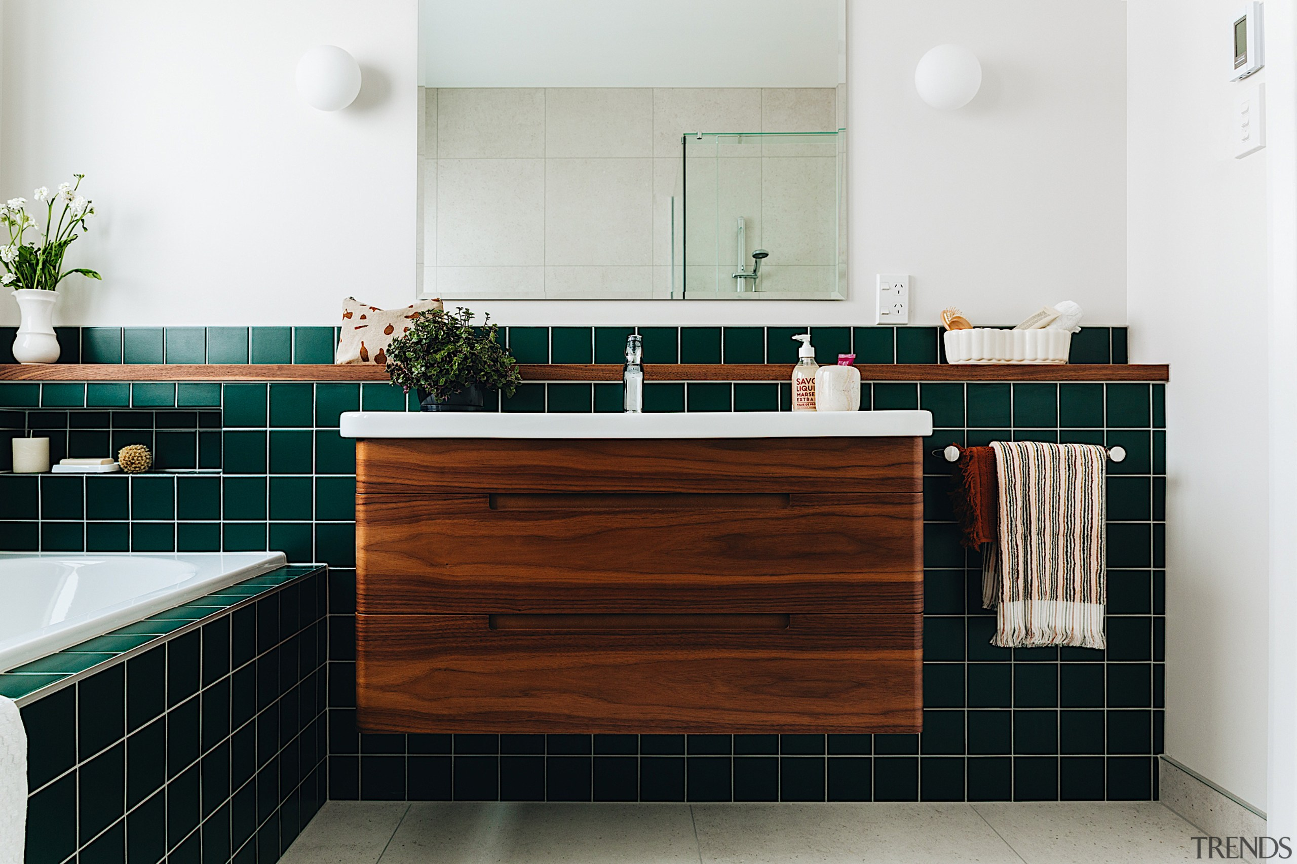 The design objective of this bungalow bathroom renovation