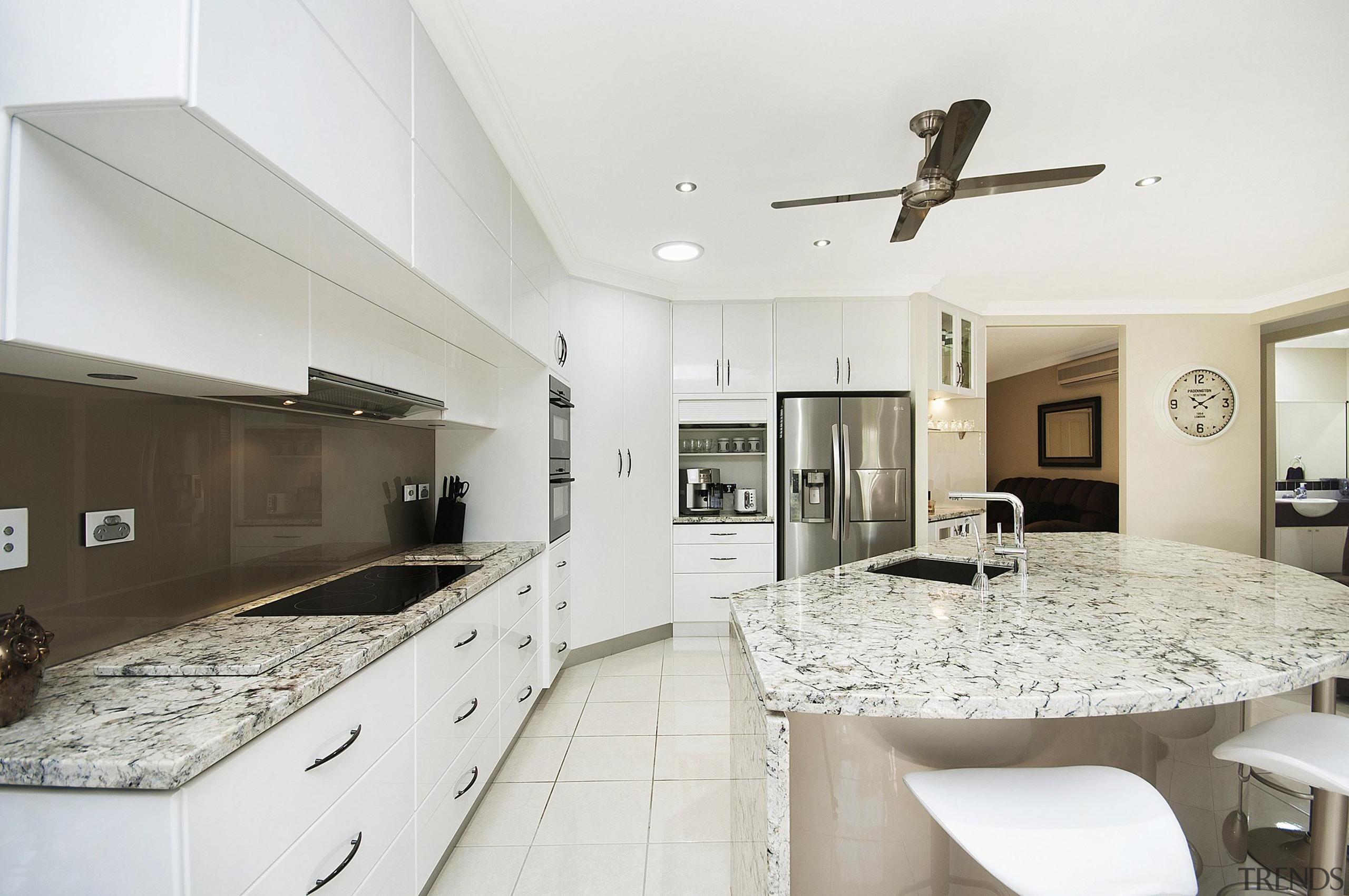 Winner Kitchen Design of the Year 2013 North countertop, estate, home, interior design, kitchen, property, real estate, room, white
