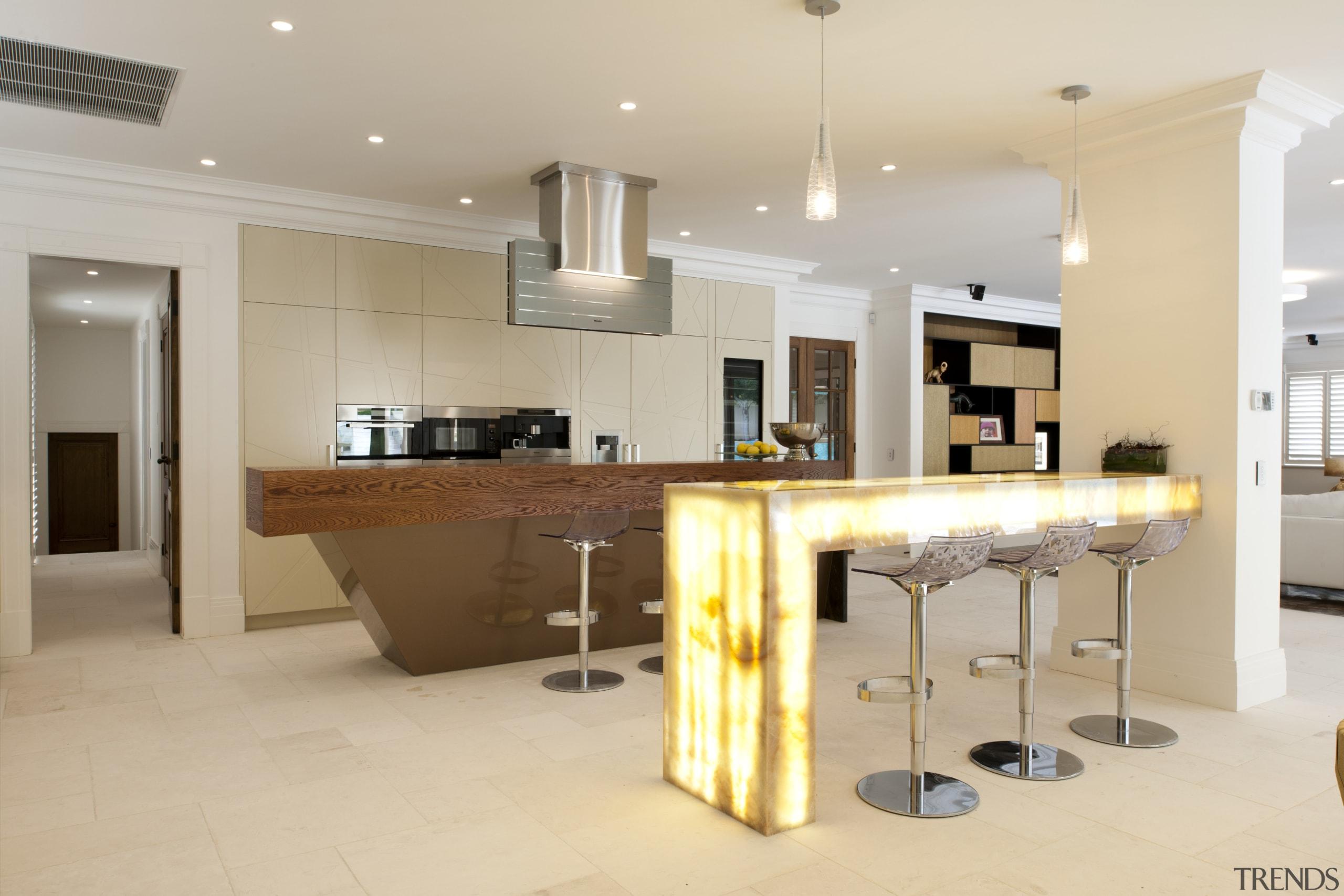 light breakfast bar is contrast to     - Gallery - 6   Trends