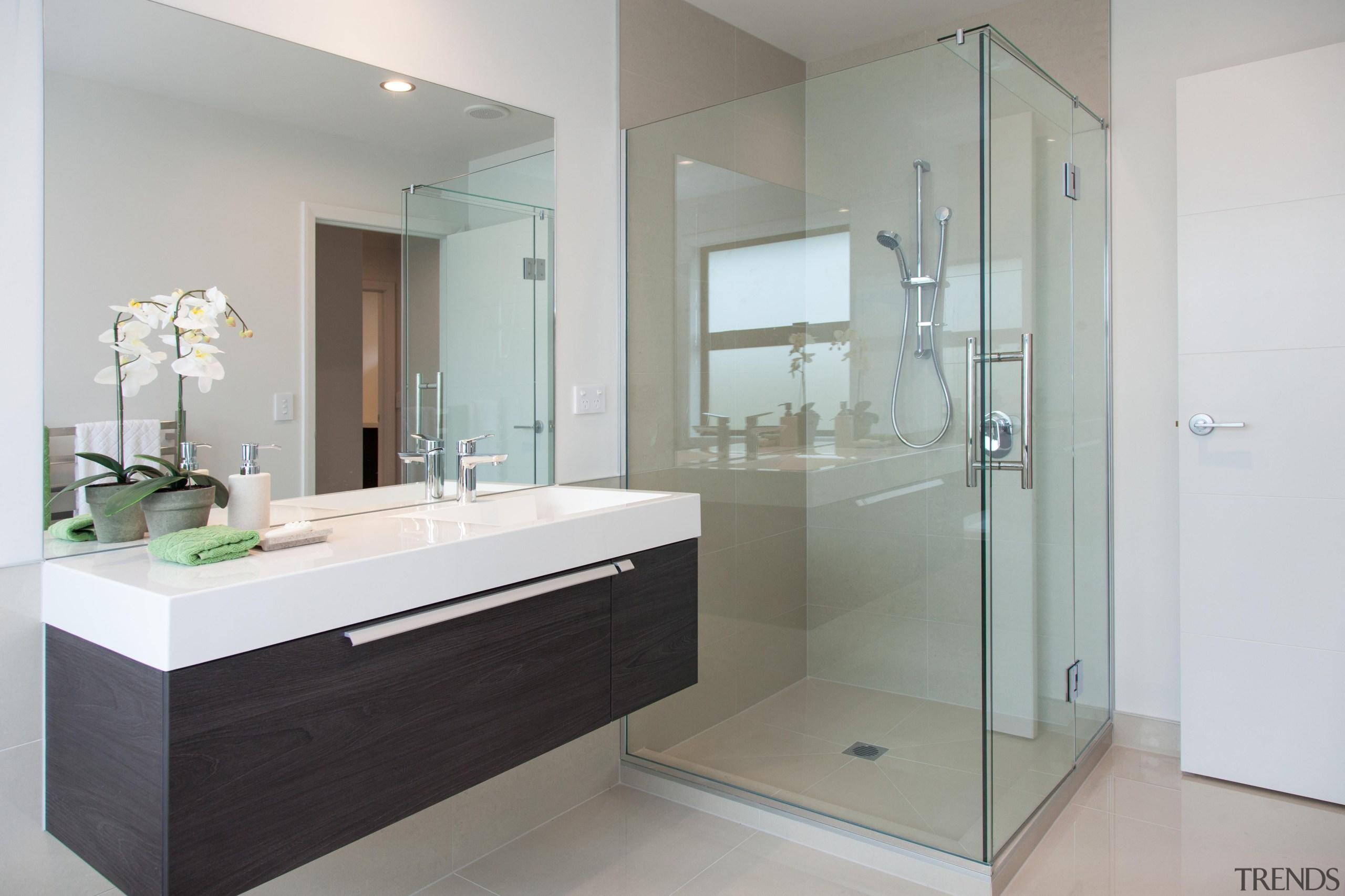 For more information, please visit www.gjgardner.co.nz bathroom, bathroom accessory, bathroom cabinet, glass, interior design, product design, room, gray