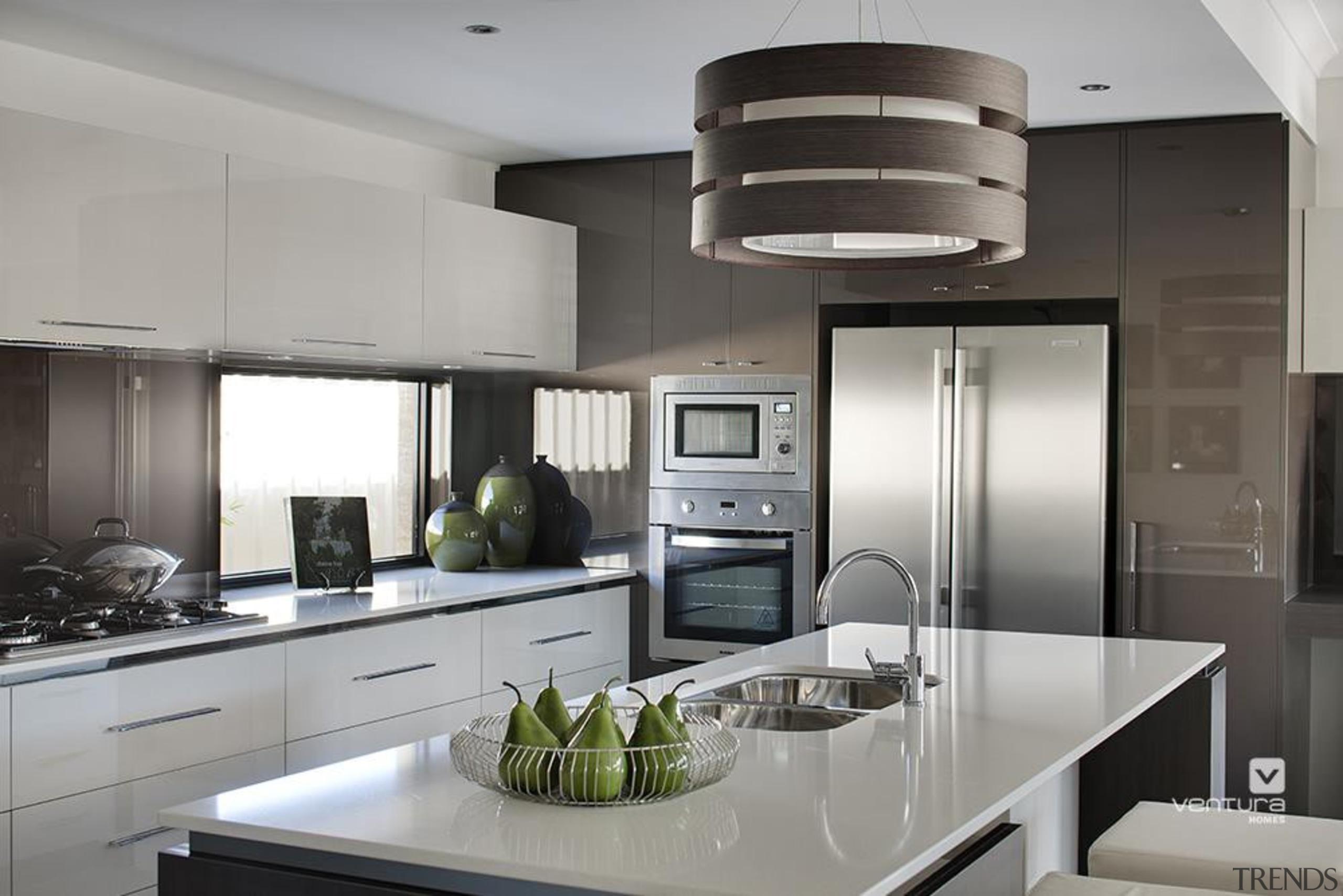 Kitchen design. - The Element Display Home - countertop, cuisine classique, home appliance, interior design, kitchen, gray