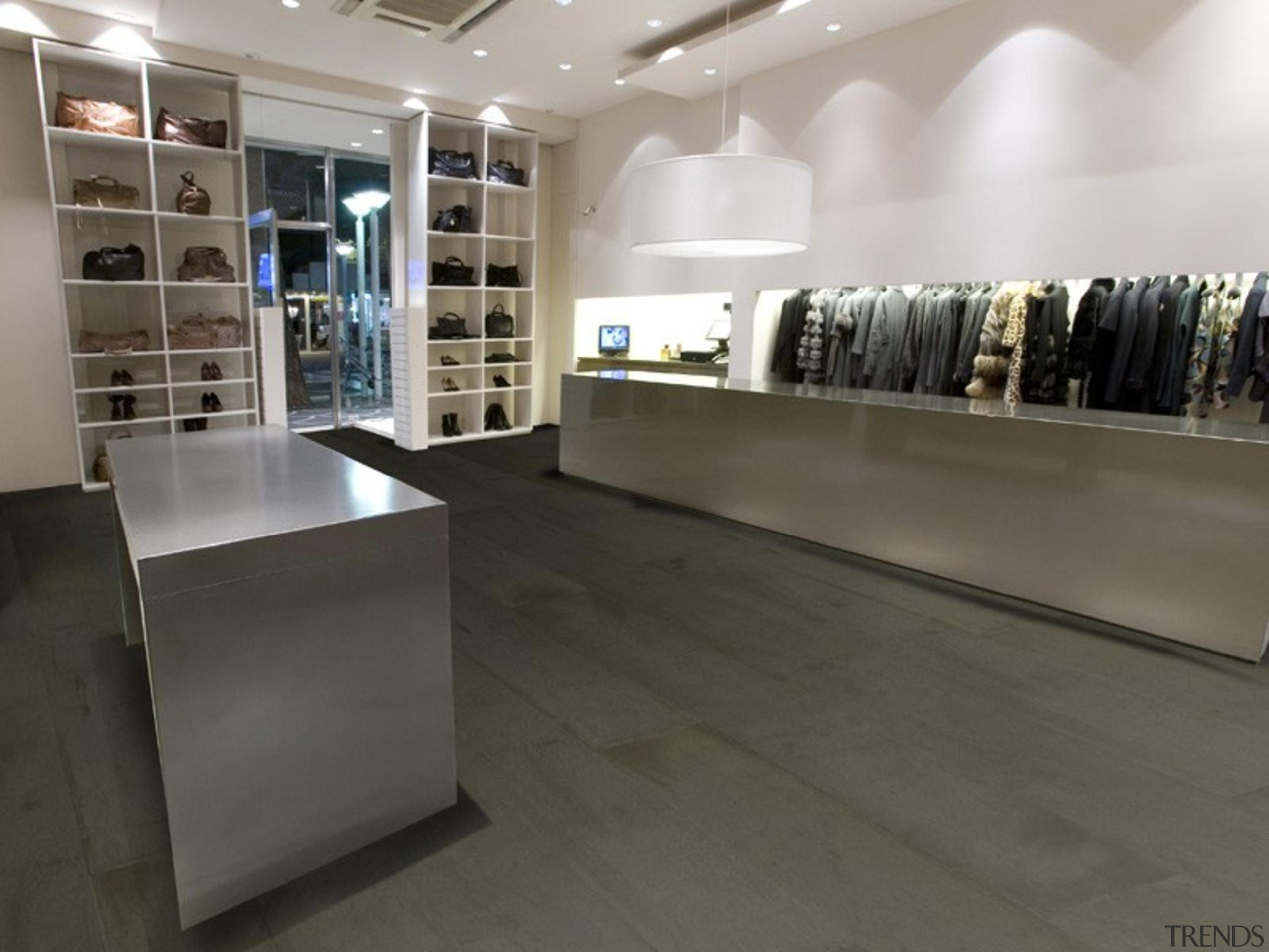 Gstar41 - boutique   floor   flooring   boutique, floor, flooring, furniture, interior design, retail, tile, gray, black