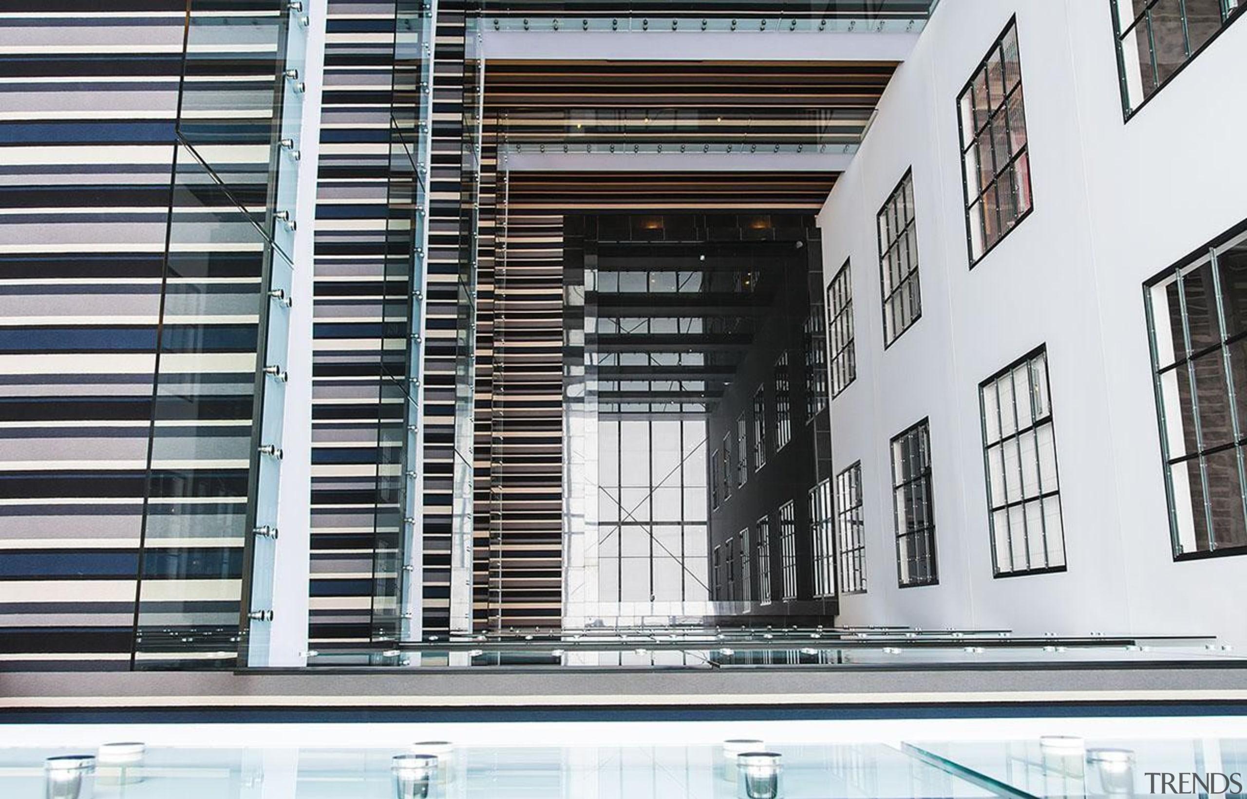 NOMINEE132 Vincent Street (2 of 4) - Hawkins architecture, building, condominium, daylighting, facade, glass, window, white, black