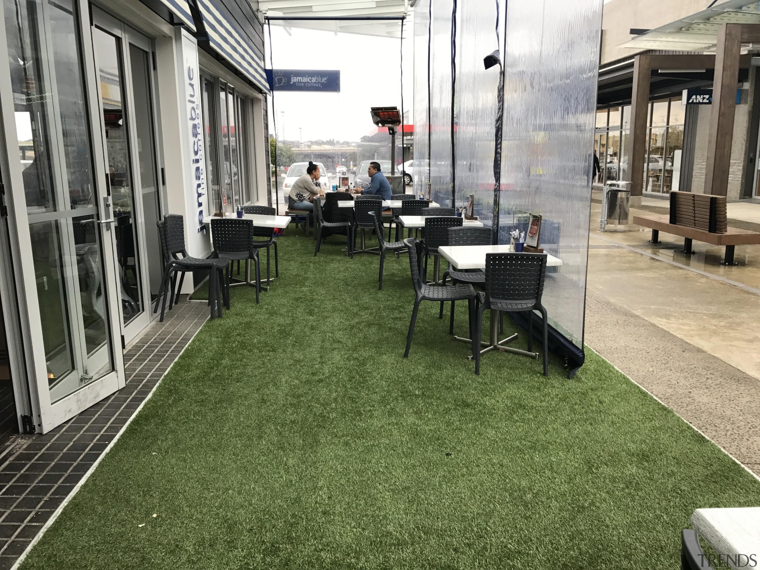 Commercial landscape - floor | flooring | grass floor, flooring, grass, lawn, plant, brown, gray