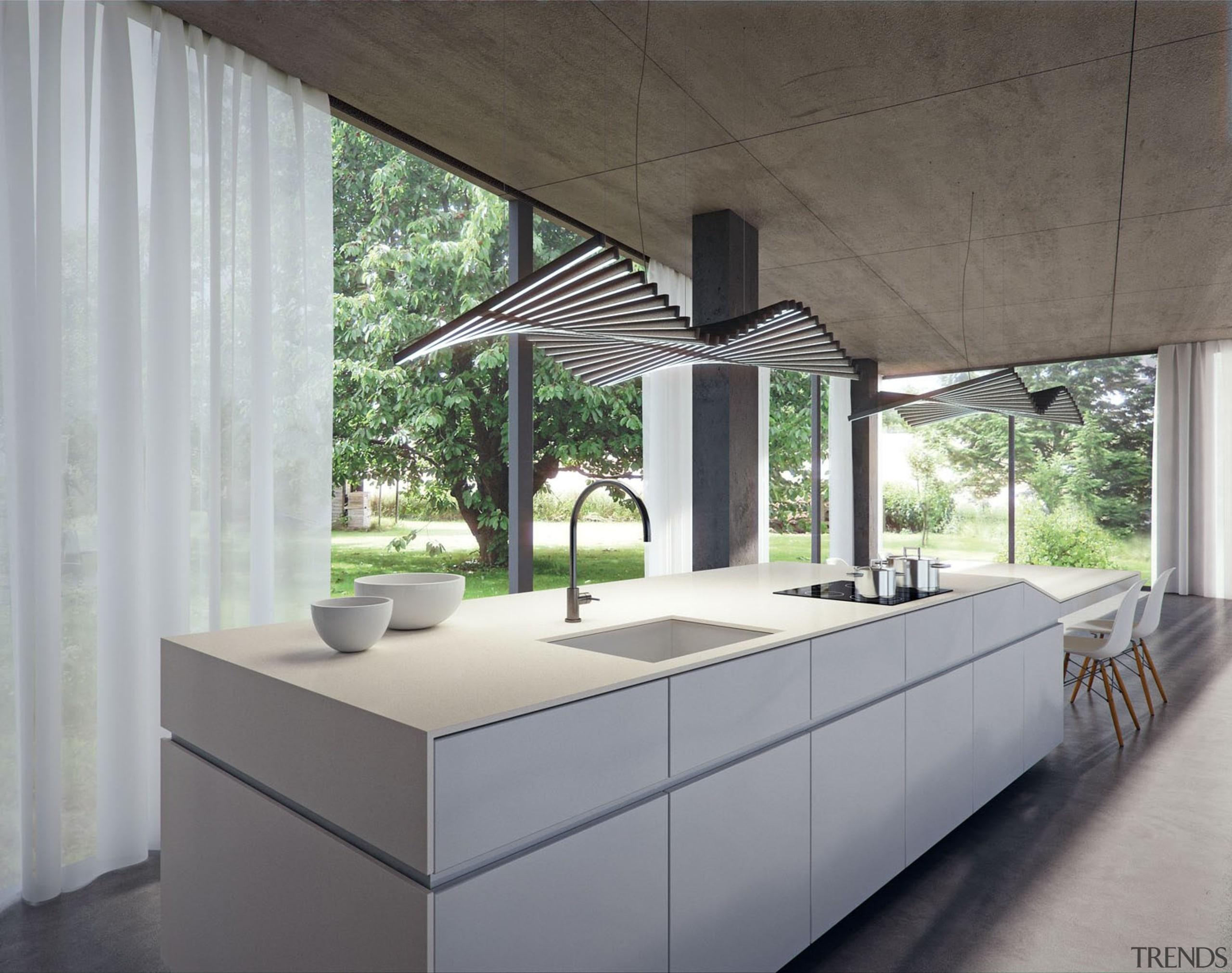 4001freshconcreterender.jpg - 4001freshconcreterender.jpg - architecture   daylighting   architecture, daylighting, house, interior design, gray