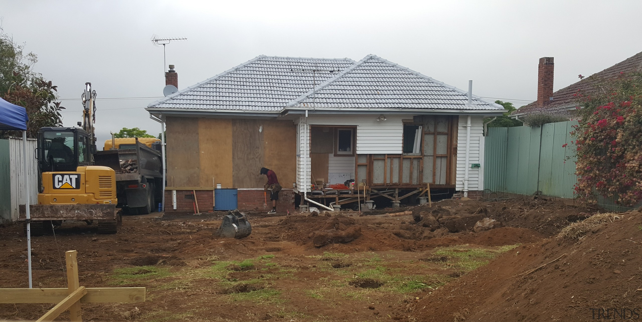 Is your renovation budget realistic? - building | building, cottage, home, house, land lot, neighbourhood, property, real estate, residential area, roof, rural area, shack, soil, brown, white