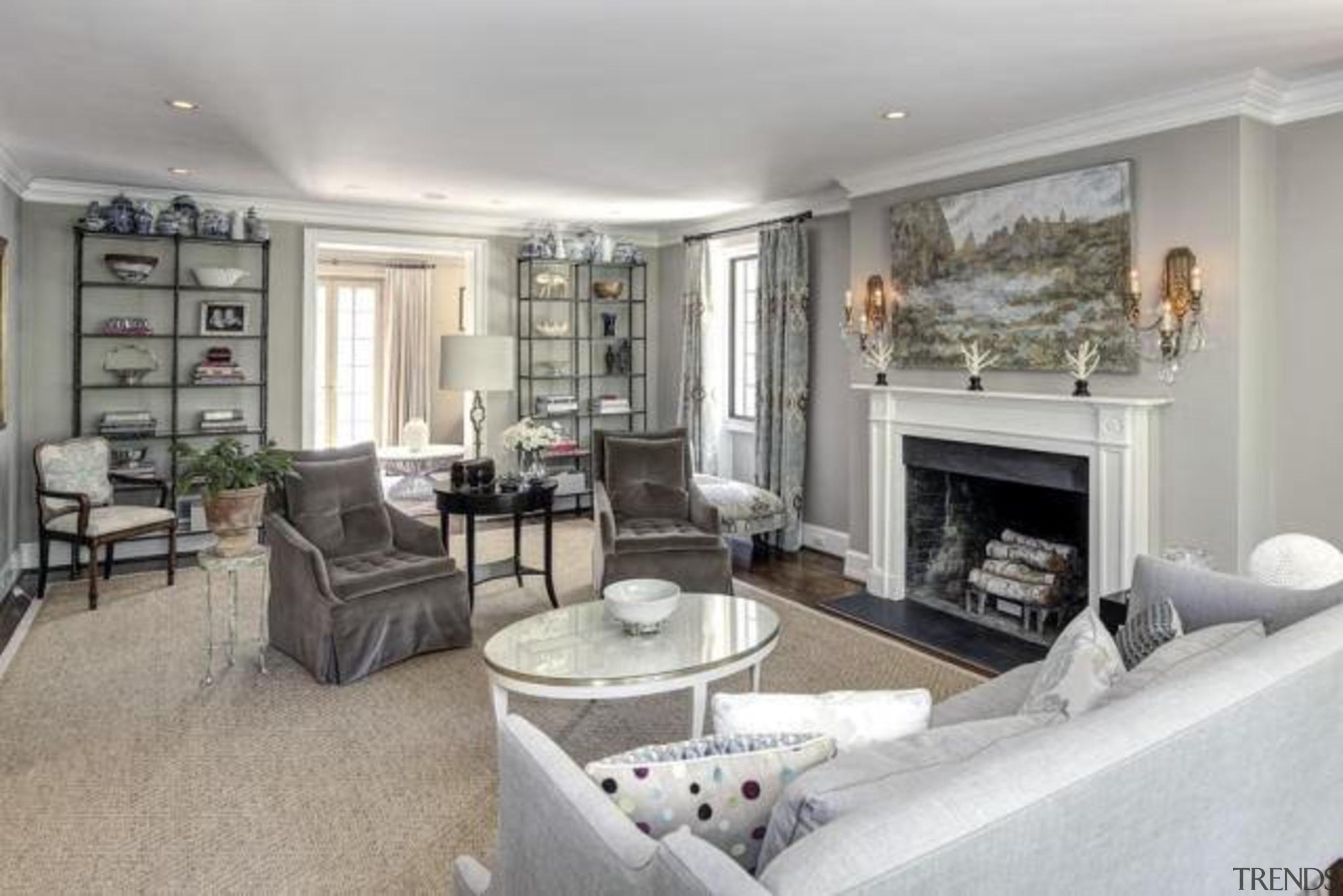 Original story from Trulia estate, home, interior design, living room, property, real estate, room, gray