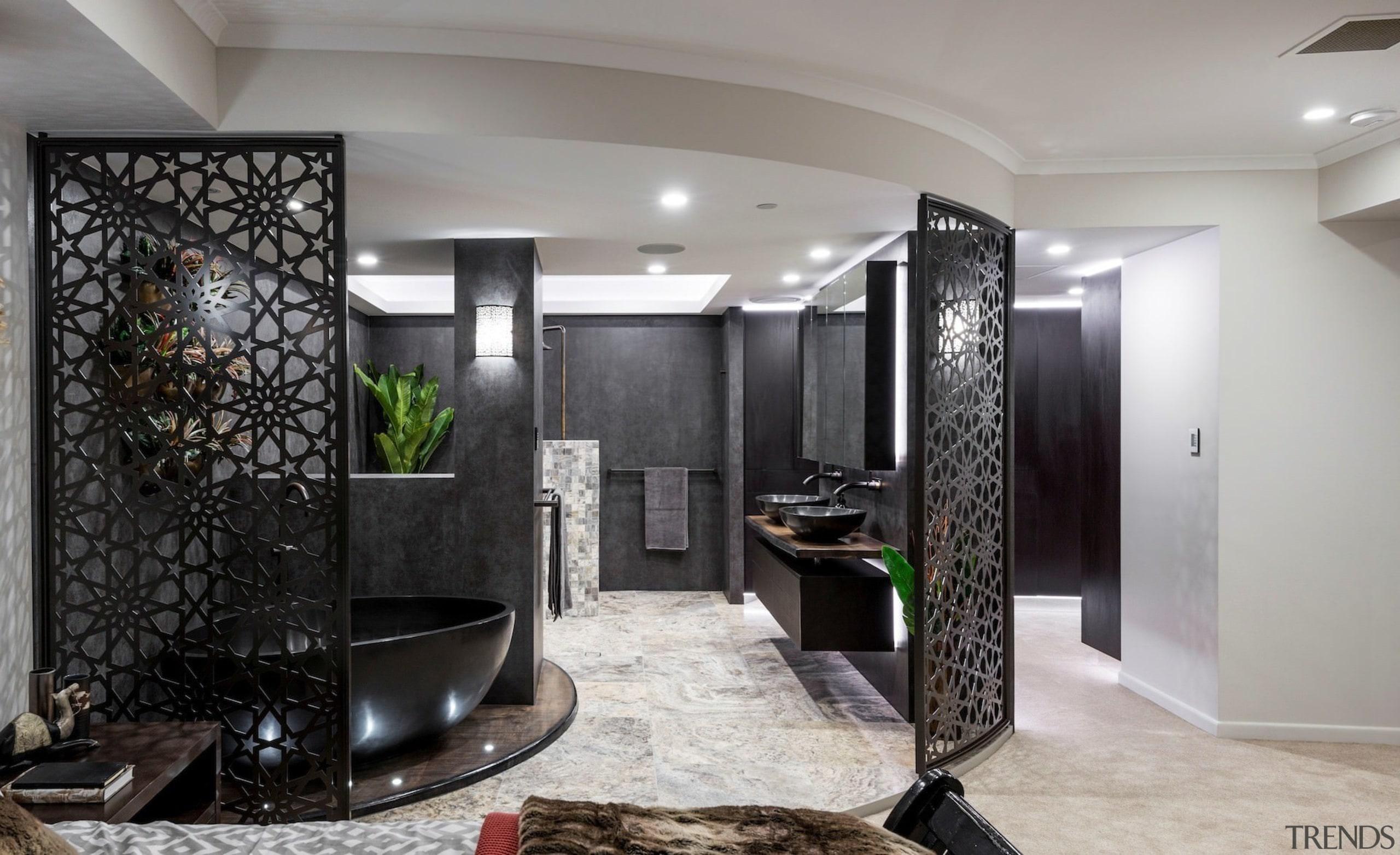 Sublime Architectural Interiors - TIDA AUS 2017 – ceiling, interior design, lobby, room, gray, black