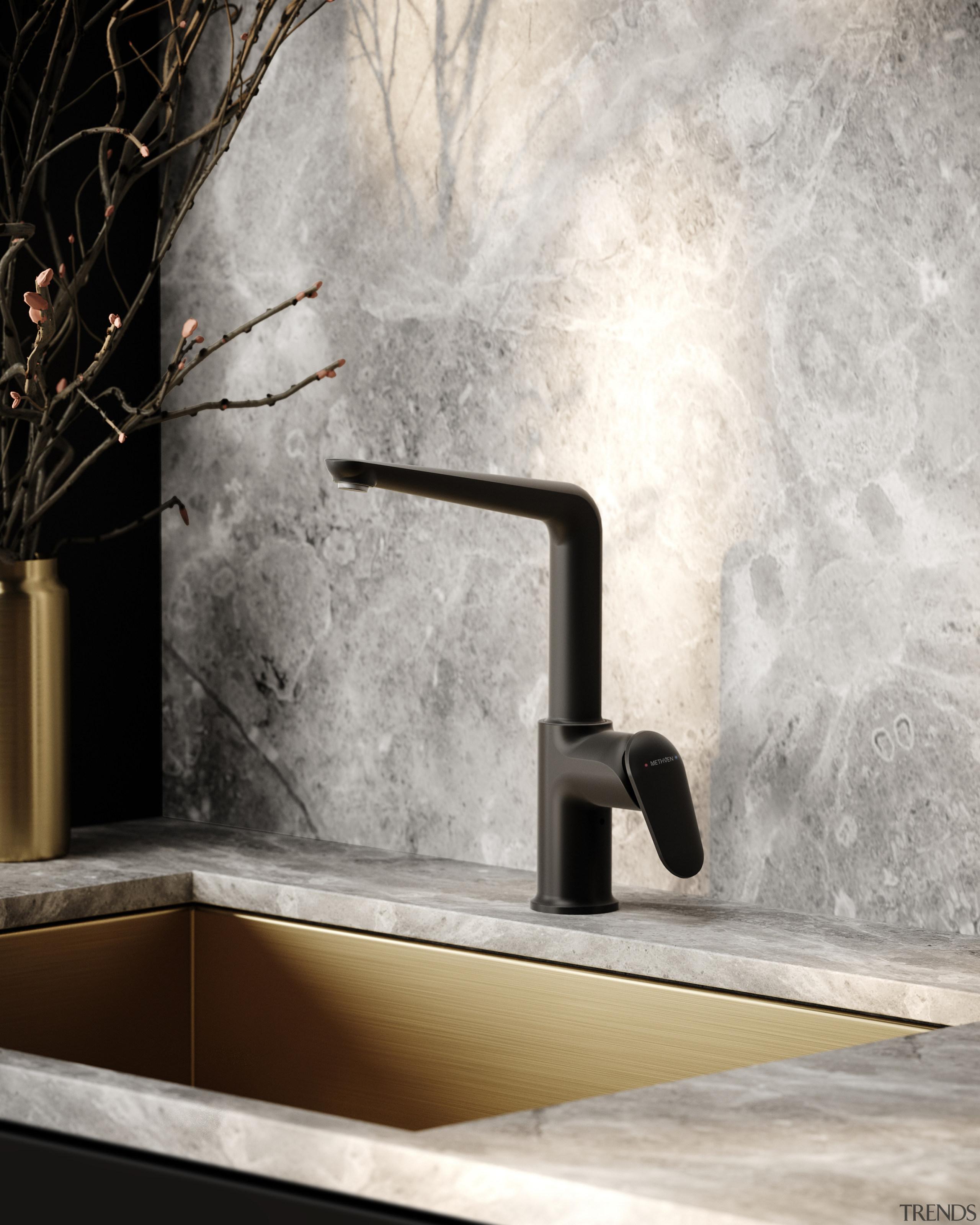 Sculpture on tap – the Aio Kitchen Mixer.