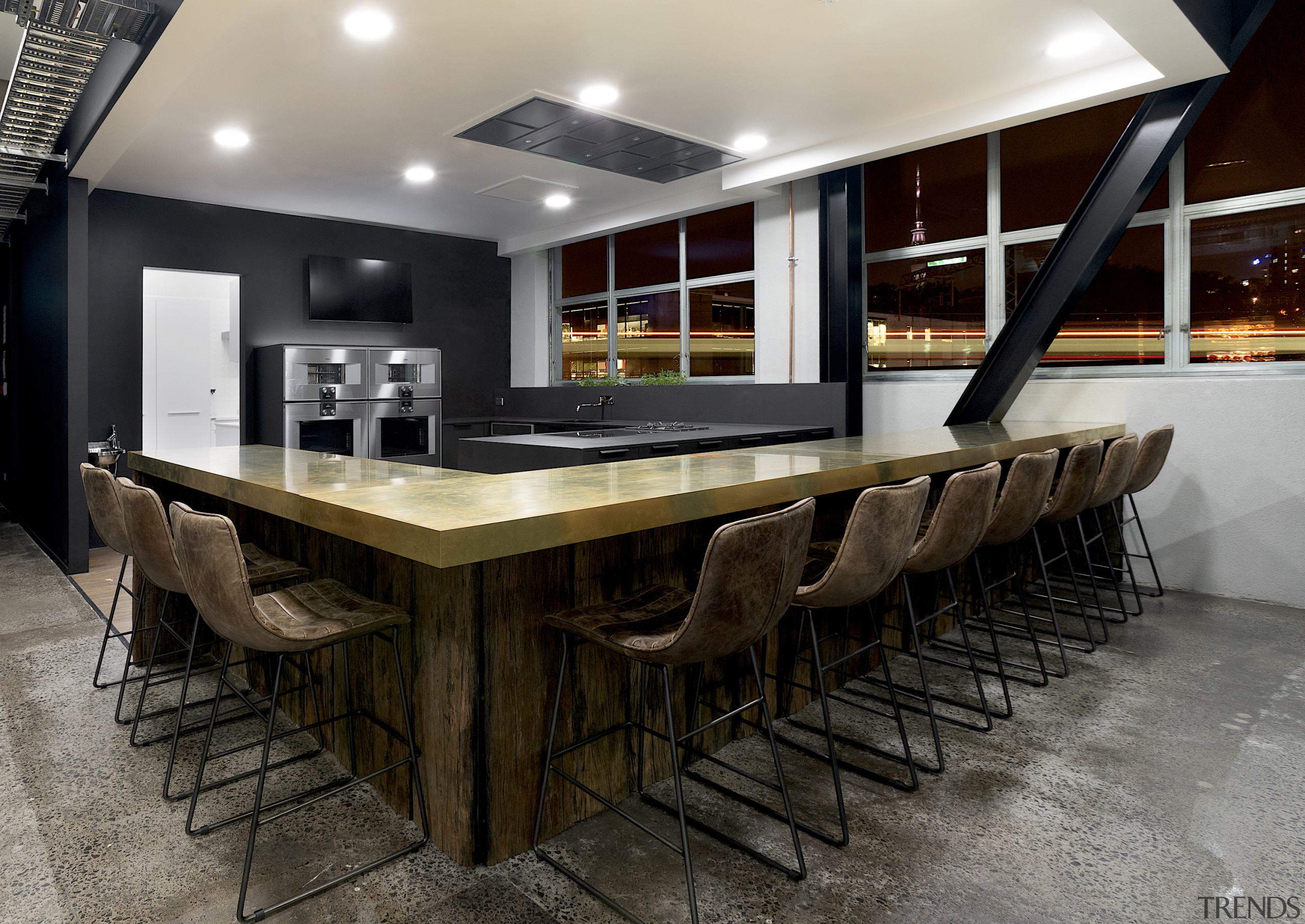UnserHaus holds alls sorts of live events, cooking black, gray