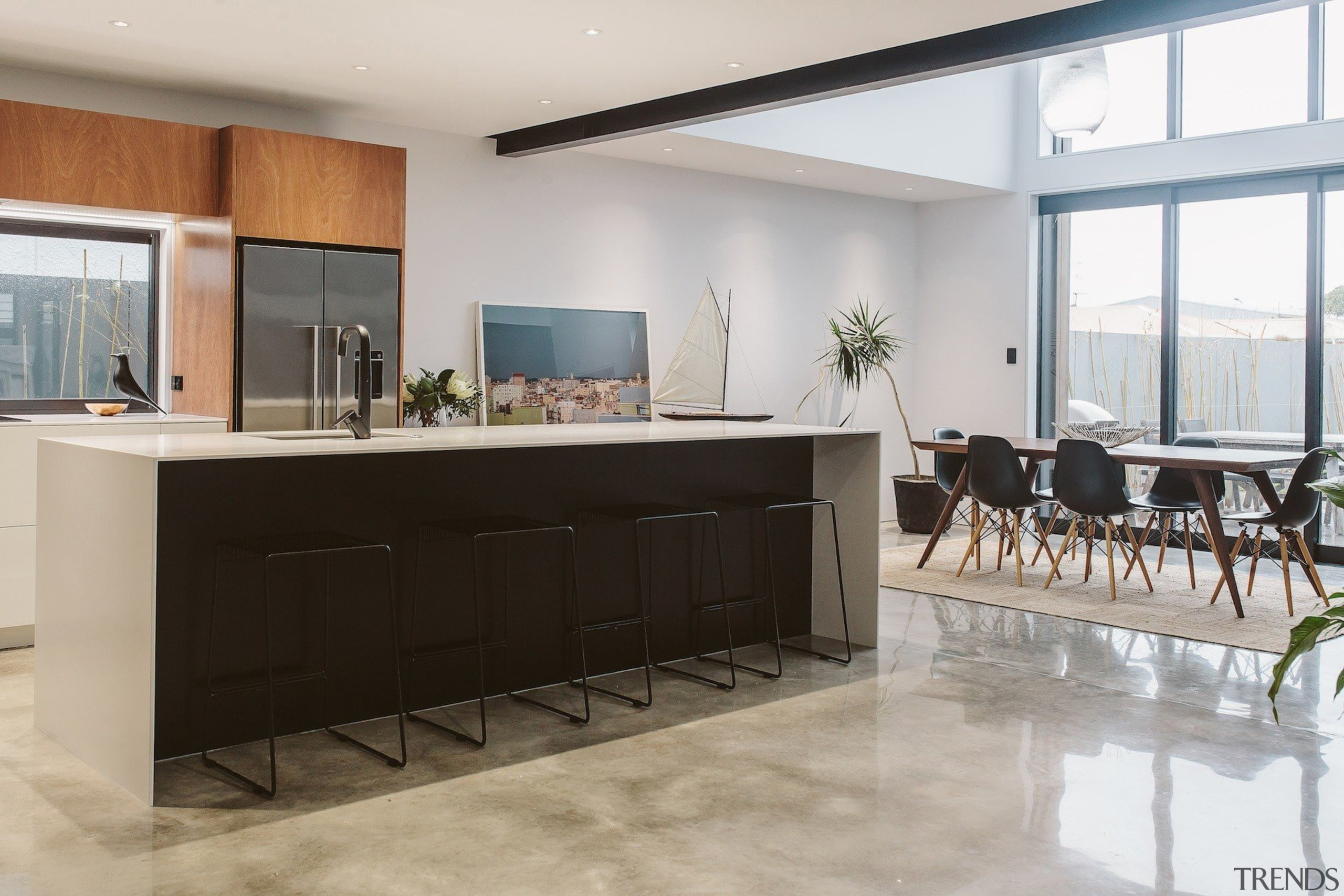 Rowson Kitchen & Joinery –TIDA New Zealand furniture, interior design, kitchen, gray
