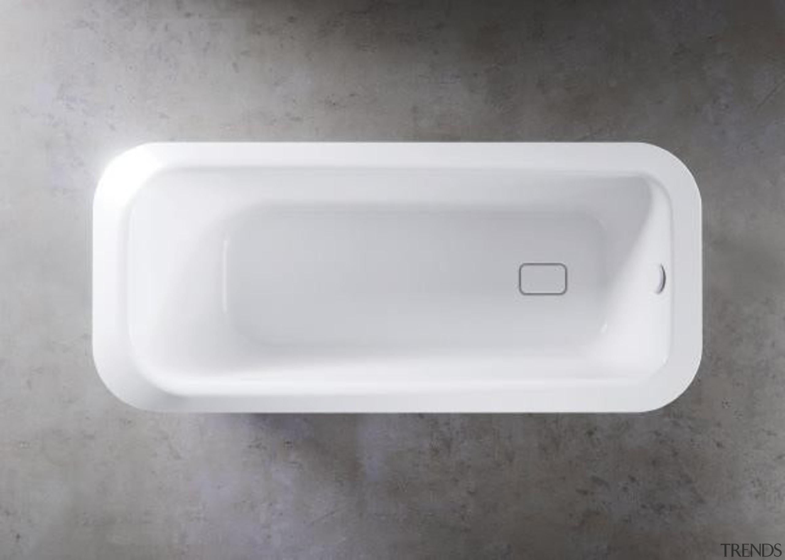 Working with star designer Arik Levy, Kaldewei has bathroom sink, bathtub, hardware, plumbing fixture, product design, sink, white, gray