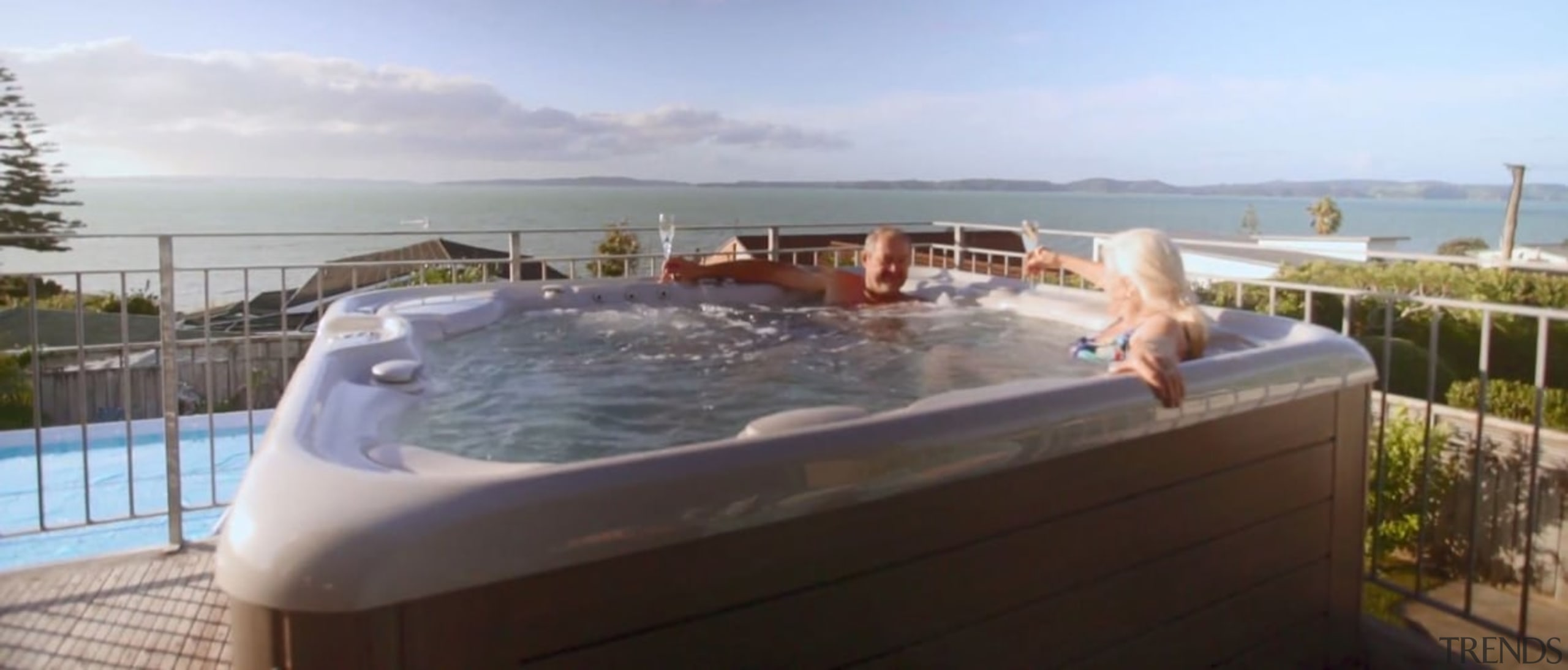 See more from Hot Spring Spas bathtub, hot tub, jacuzzi, leisure, property, swimming pool, gray, white