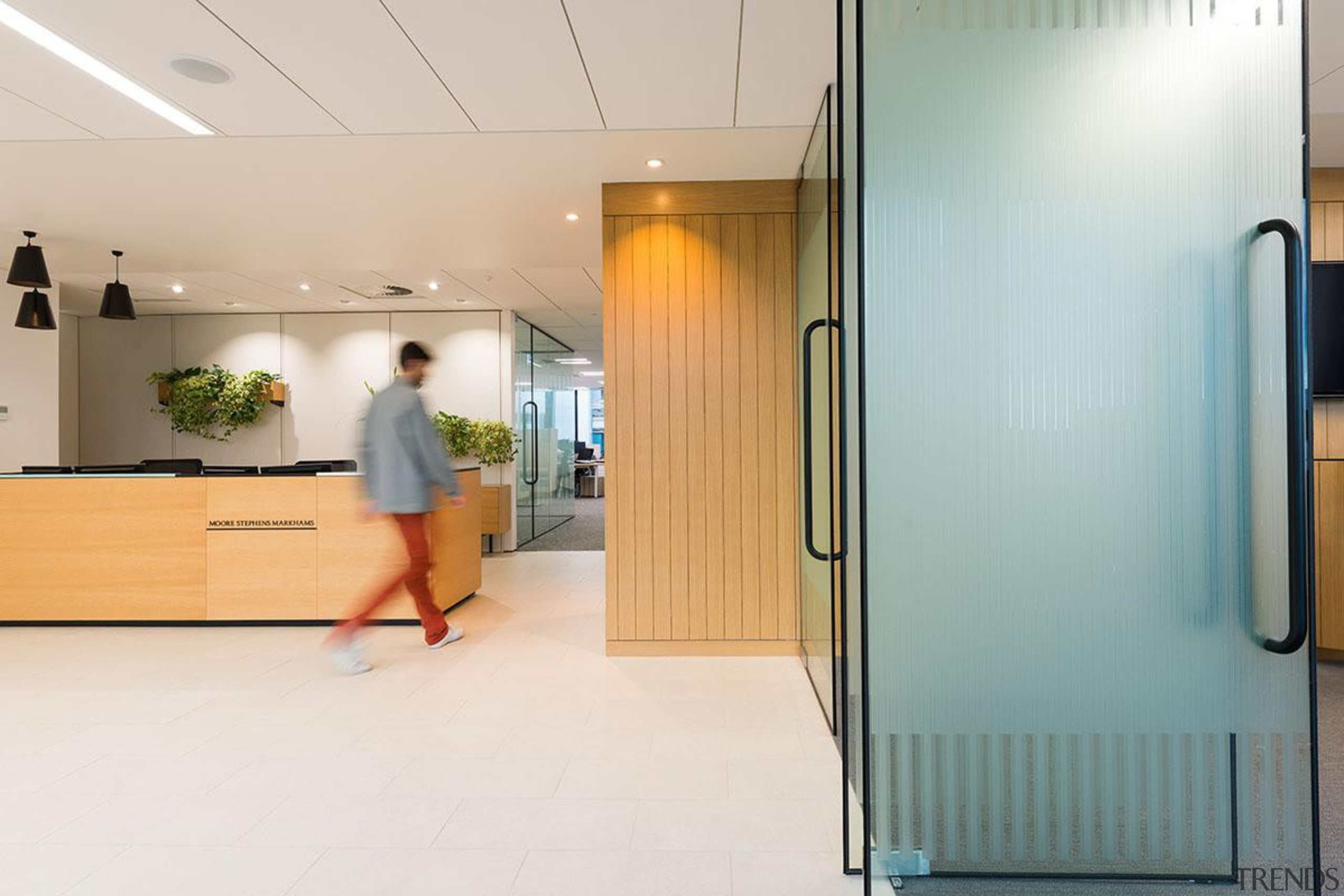 MERIT WINNERThree35 (3 of 4) - Hays Commercial floor, flooring, institution, interior design, product design, white, gray