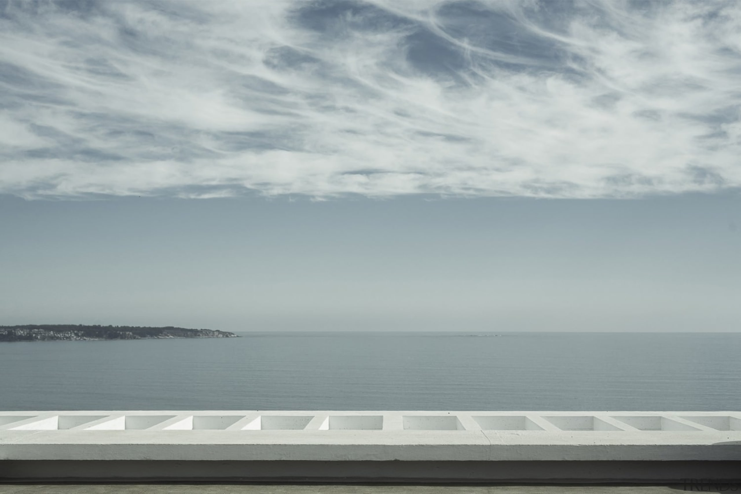 Unobstructed views of the Pacific ocean - Unobstructed calm, cloud, coastal and oceanic landforms, daytime, horizon, ocean, sea, shore, sky, water, gray