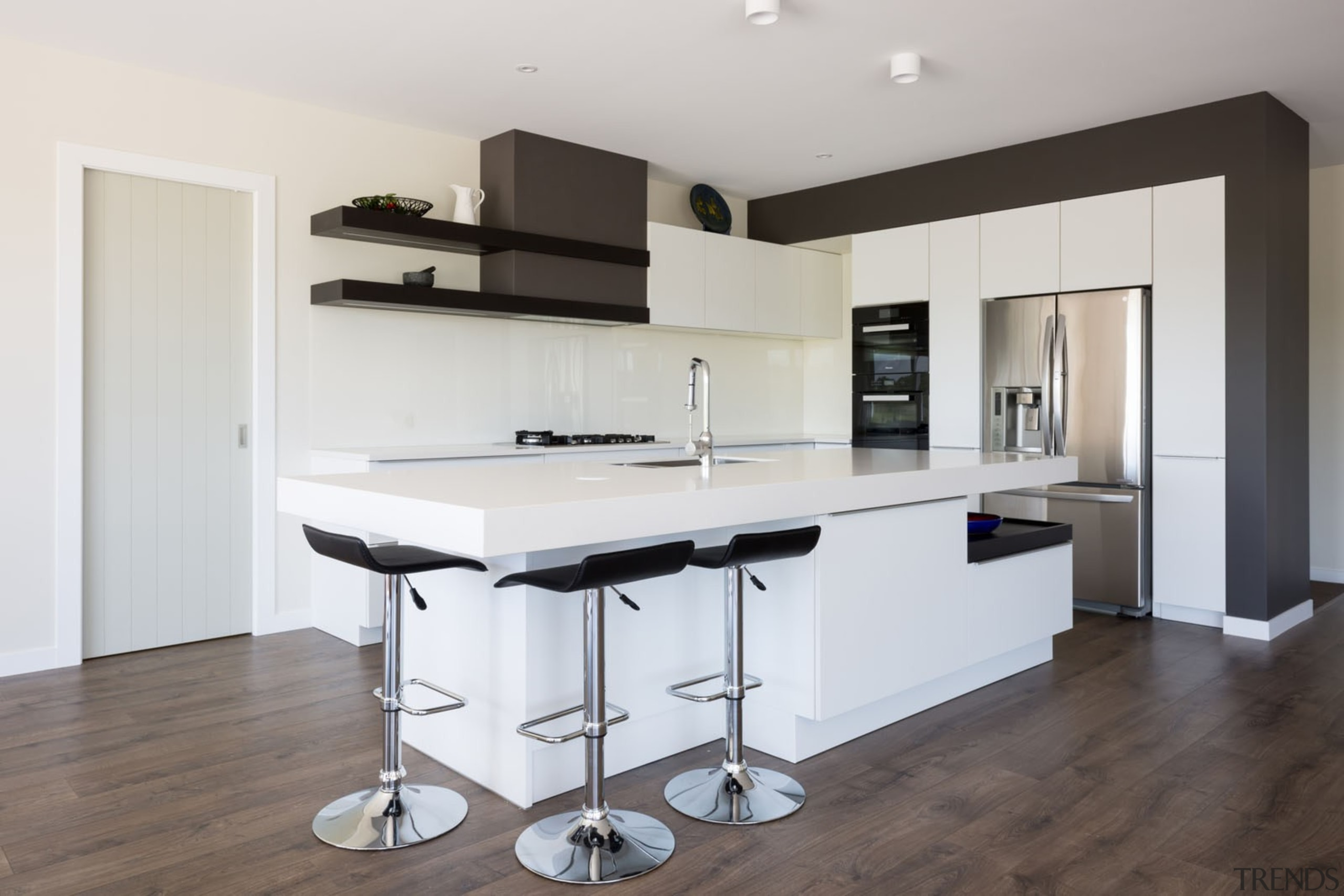 IMGL9847-2 - Dairy Flat kitchen - countertop   countertop, floor, furniture, interior design, kitchen, product design, white