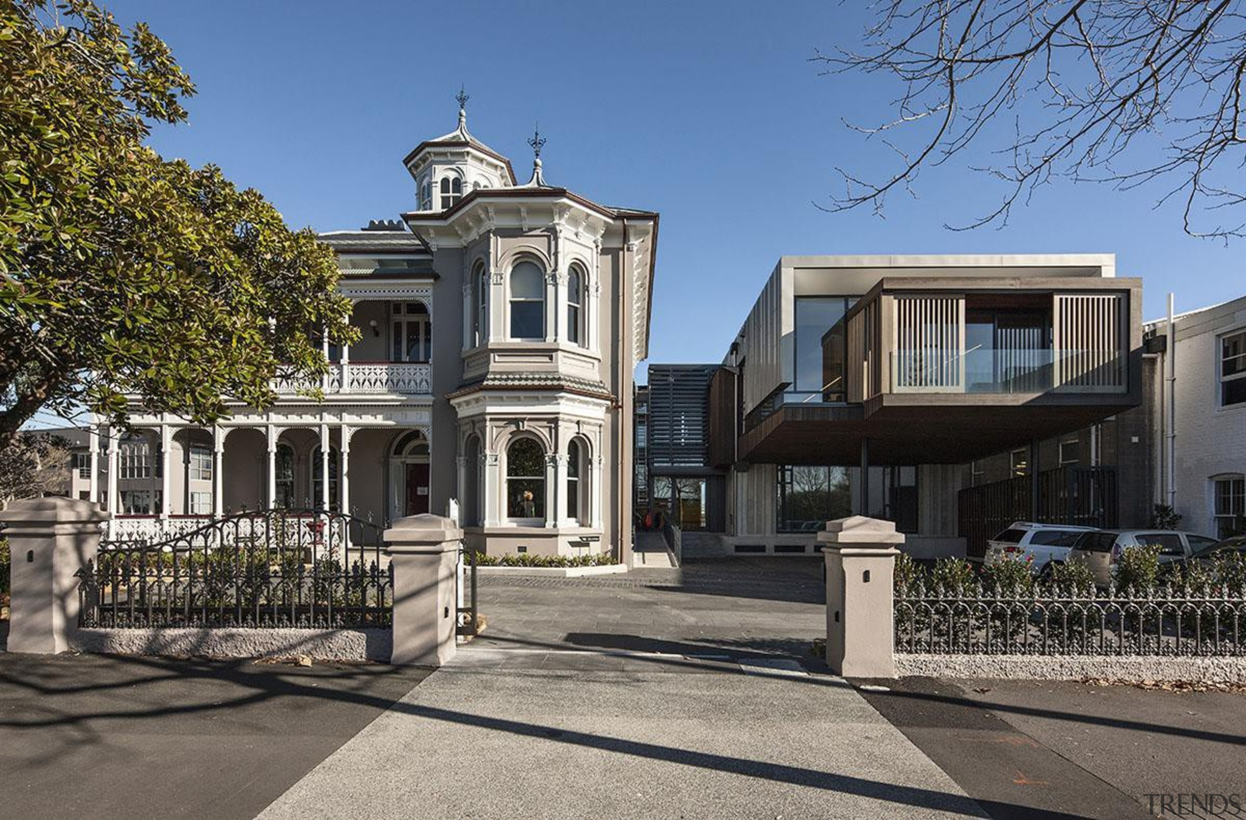 NOMINEEAllendale House and Annexe (1 of 4) - architecture, building, estate, facade, historic house, home, house, landmark, mansion, neighbourhood, property, real estate, residential area, sky, tree, villa, window, gray, black