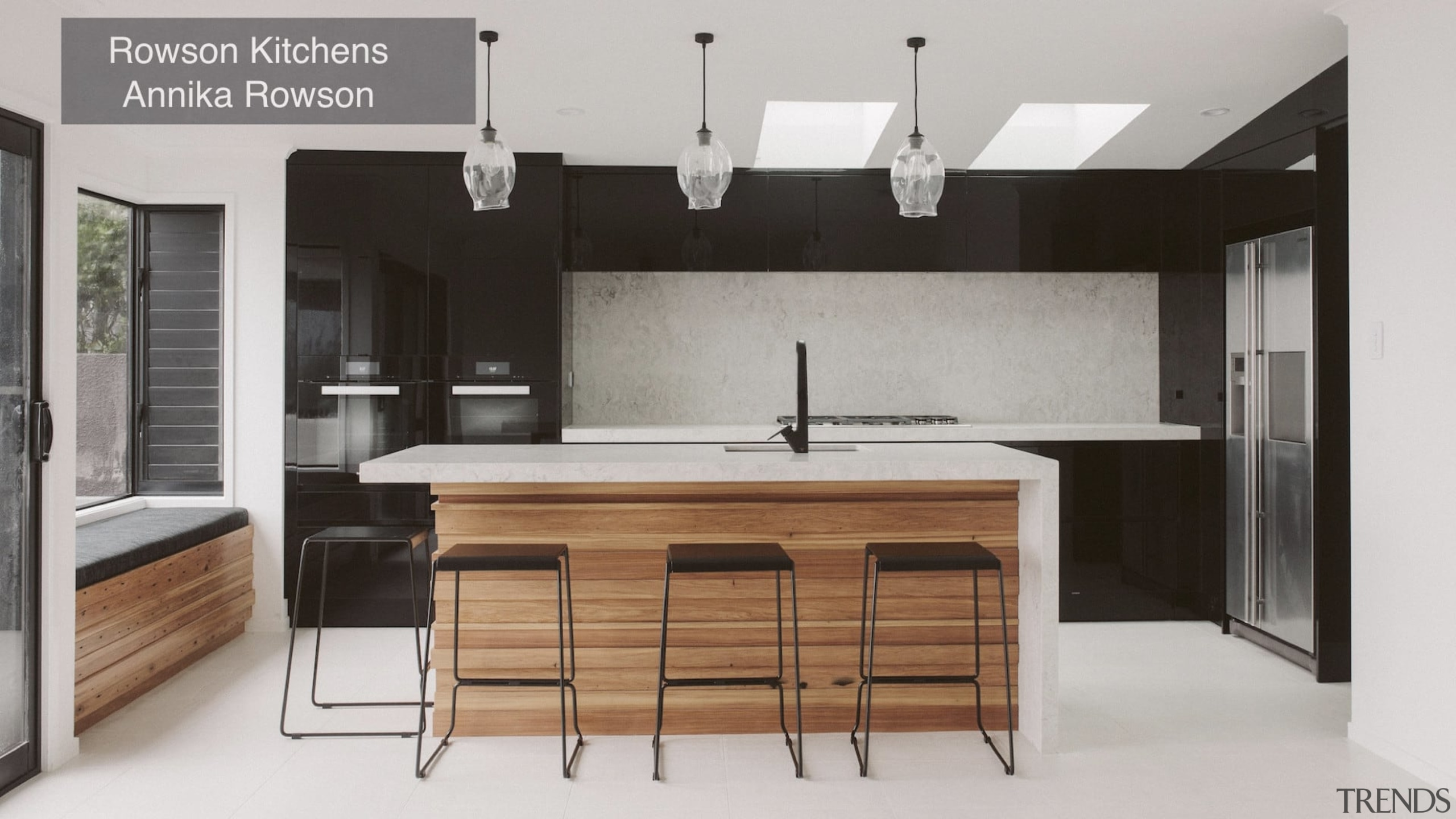 Highly Commended – Rowson Kitchens Tida New Zealand cabinetry, countertop, cuisine classique, interior design, kitchen, gray
