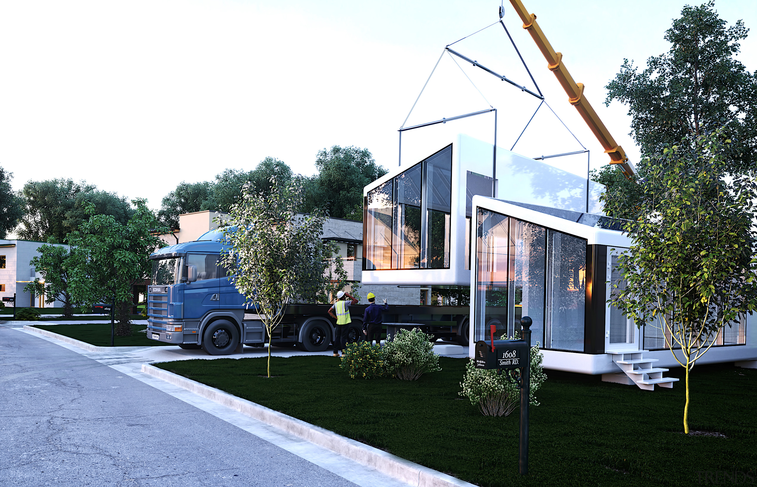 Pulling the plug - architecture   building   architecture, building, cottage, facade, grass, home, house, property, real estate, residential area, roof, siding, transport, tree, vehicle, white
