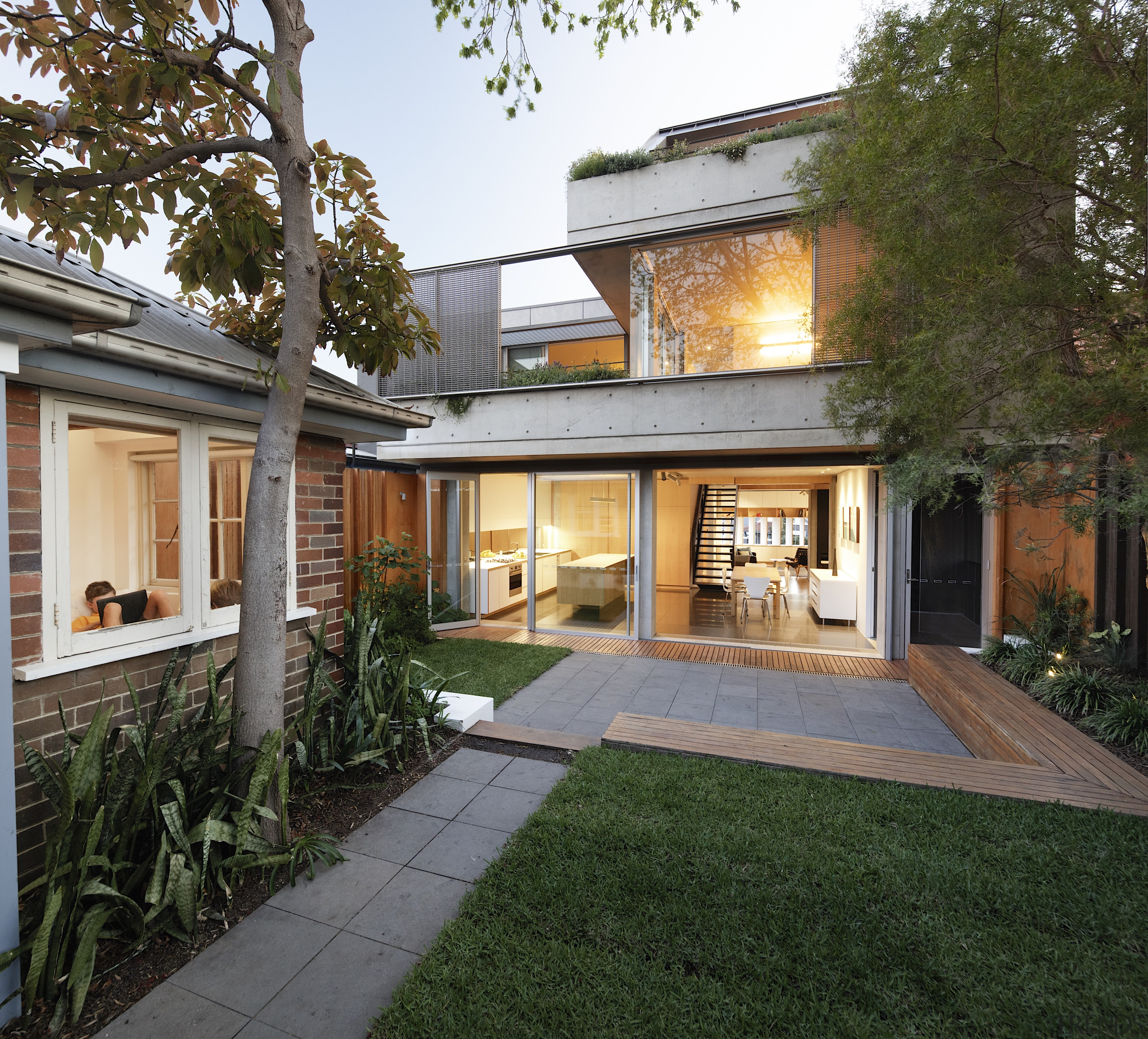 Lilyfield House is efficient and sustainable in its