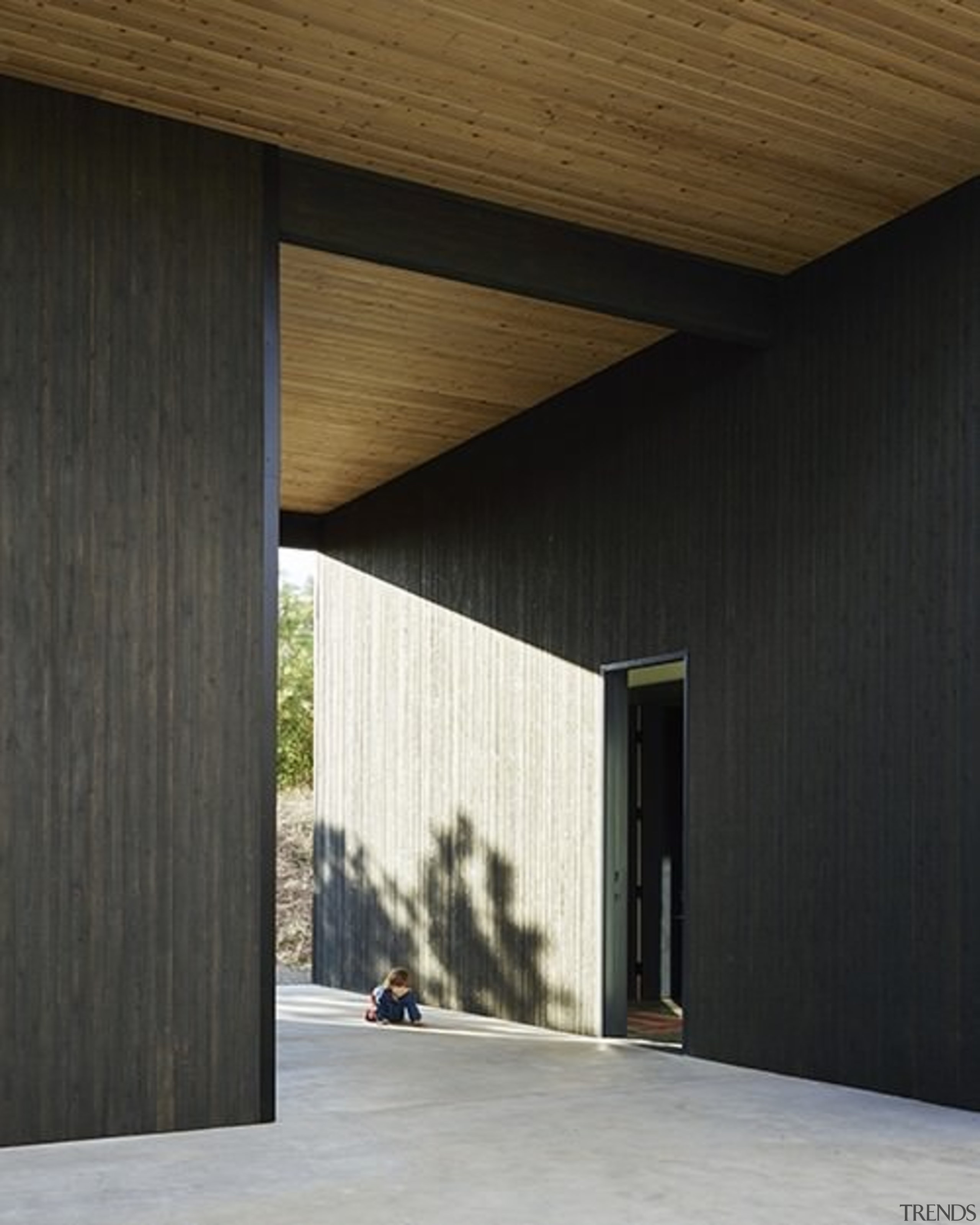 Architect: goCstudioPhotography by Kevin Scott, Kelly Turso architecture, daylighting, facade, house, structure, wall, wood, black