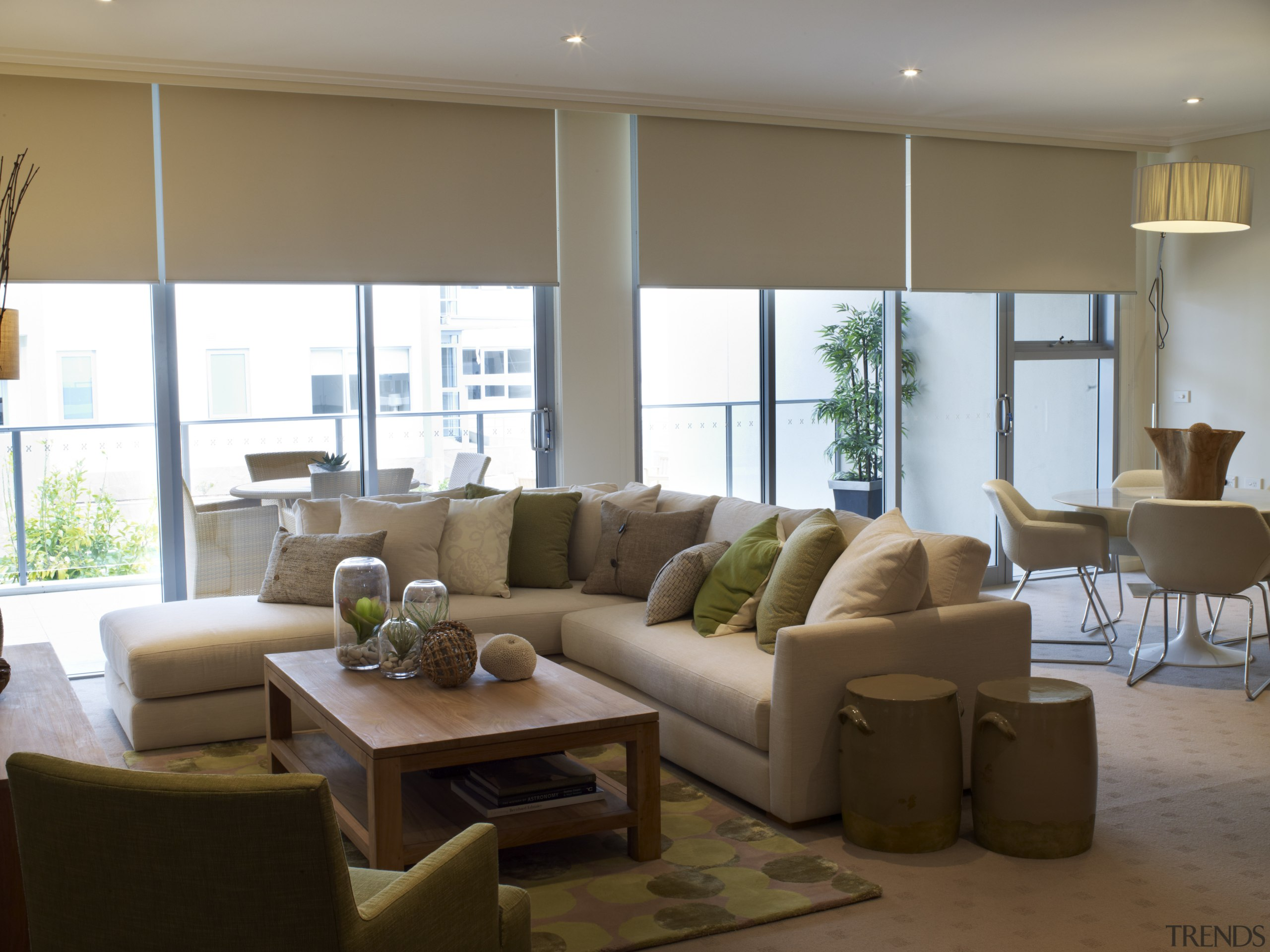 View of the lounge area of a unit a    - Gallery - 3   Trends